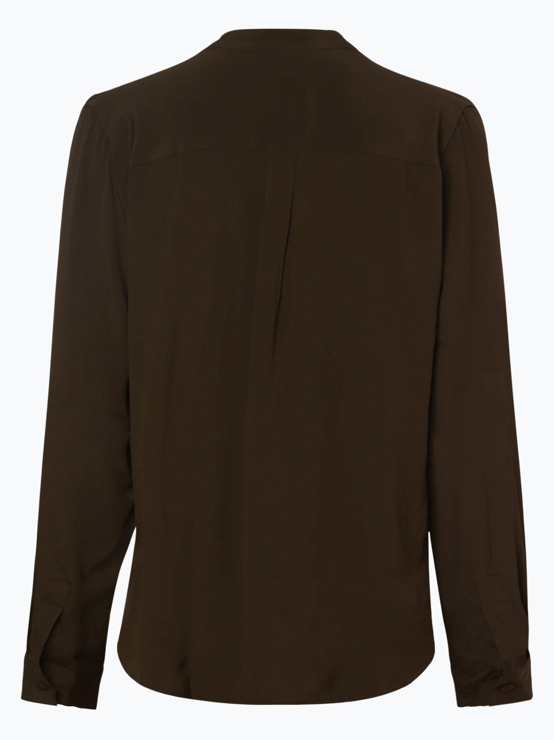 0039 Italy Damen Bluse mit Seiden-Anteil