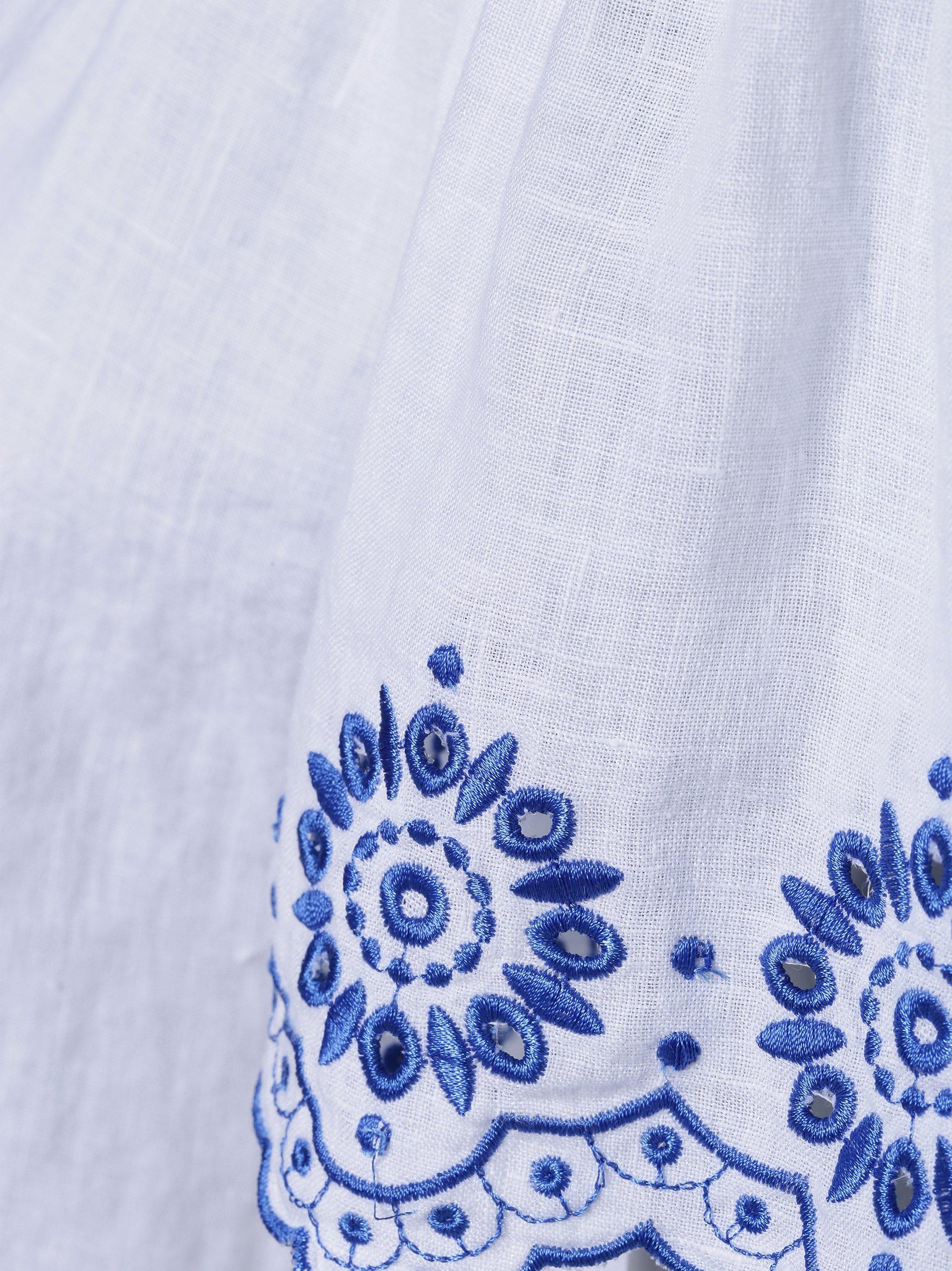 0039 Italy Damen Blusenshirt aus Leinen - Marge Eve