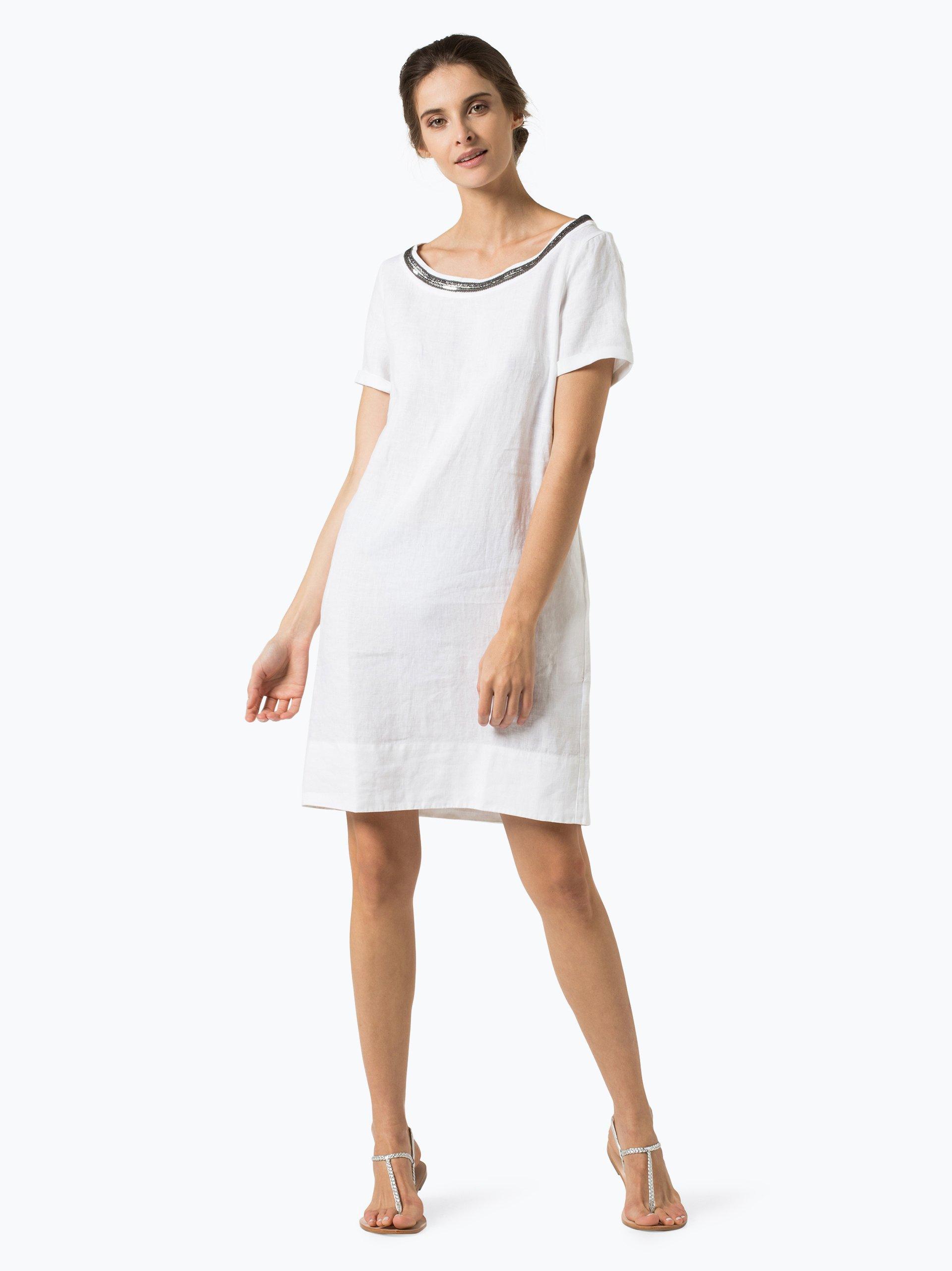 0039 Italy Damen Kleid aus Leinen - Holiday Eve online ...