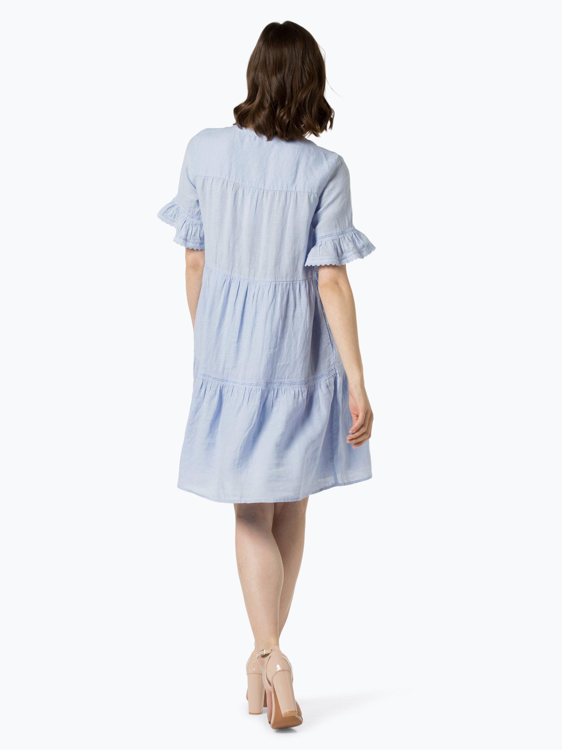 0039 Italy Damska sukienka lniana