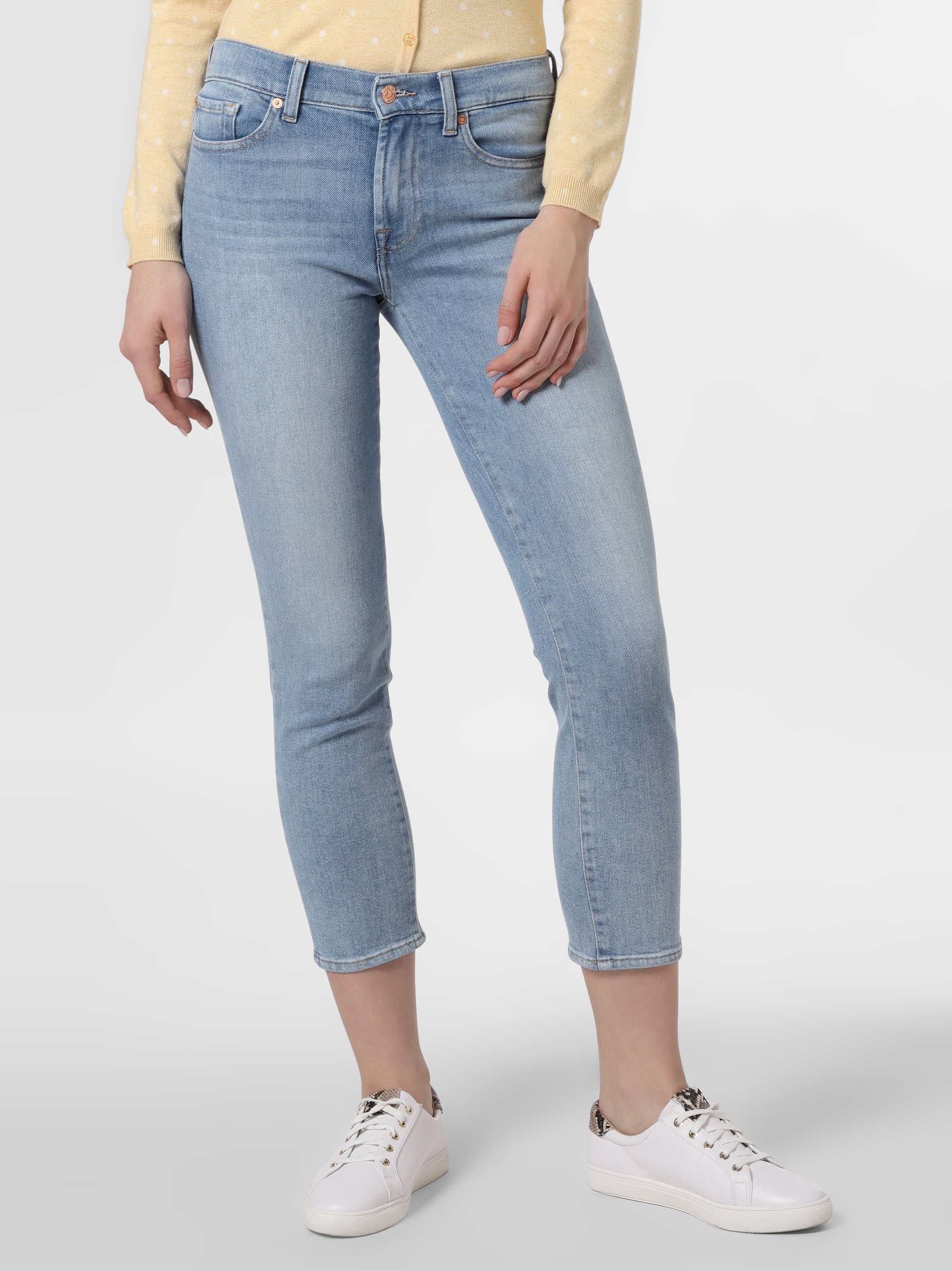 7 For All Mankind Damen Jeans - Roxanne Ankle