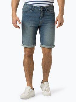 c5d7fe5d73fe5 Nowości Męskie spodenki jeansowe