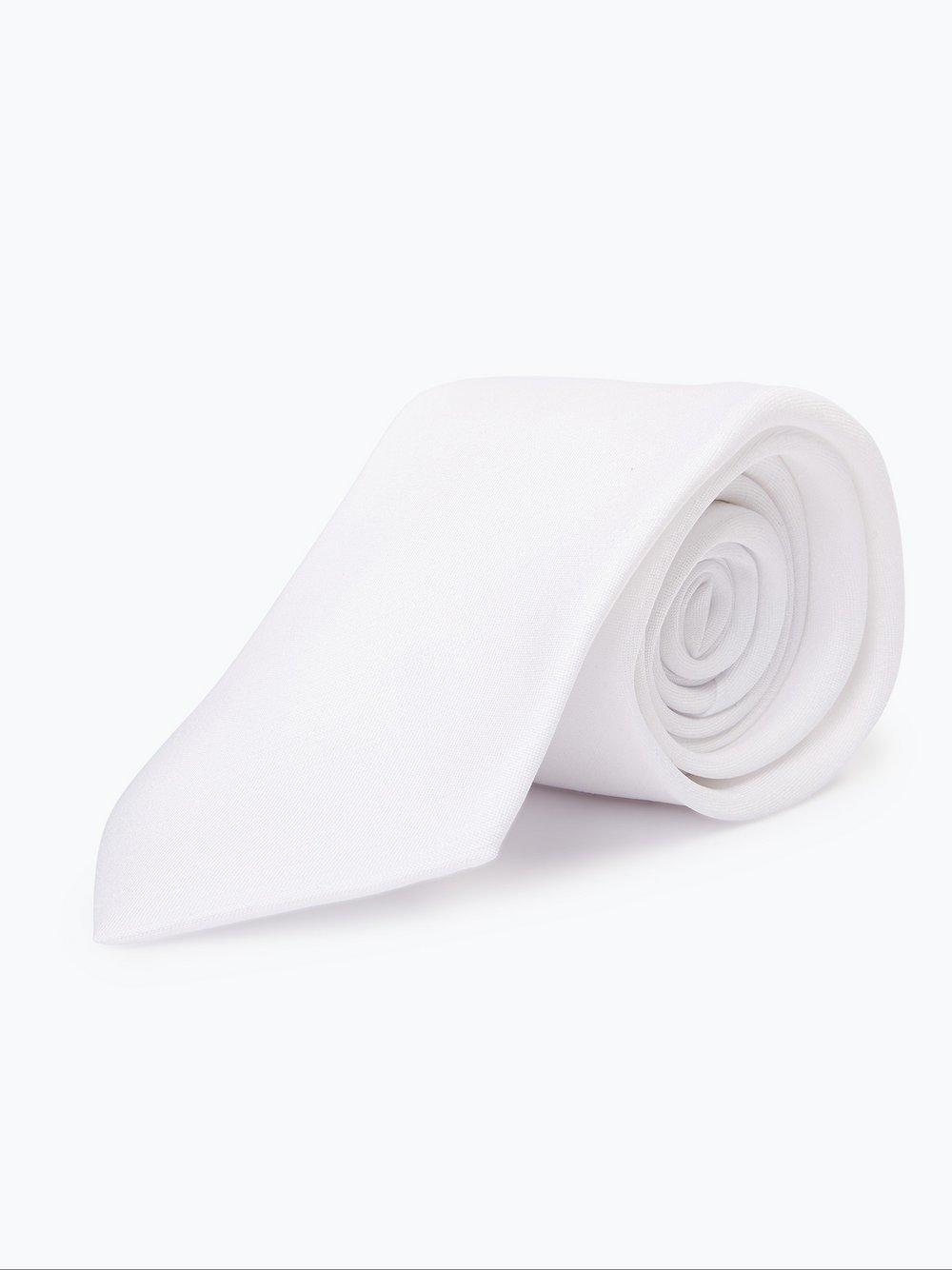 Mc Earl - Krawat męski, biały