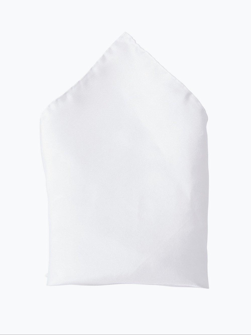 Andrew James – Poszetka jedwabna męska, biały Van Graaf 102855-0002