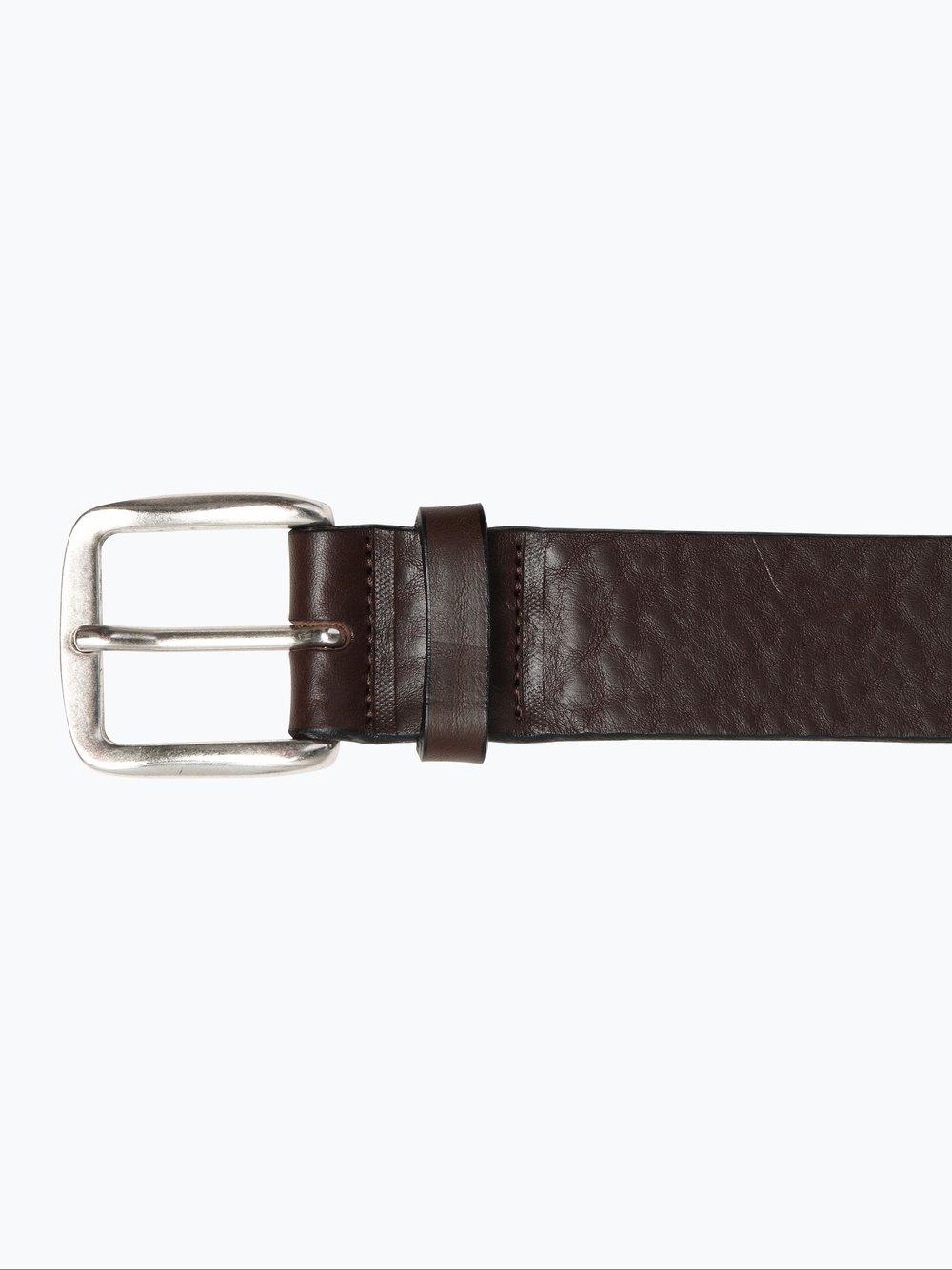 Condor – Męski pasek skórzany, brązowy Van Graaf 103460-0001-01150
