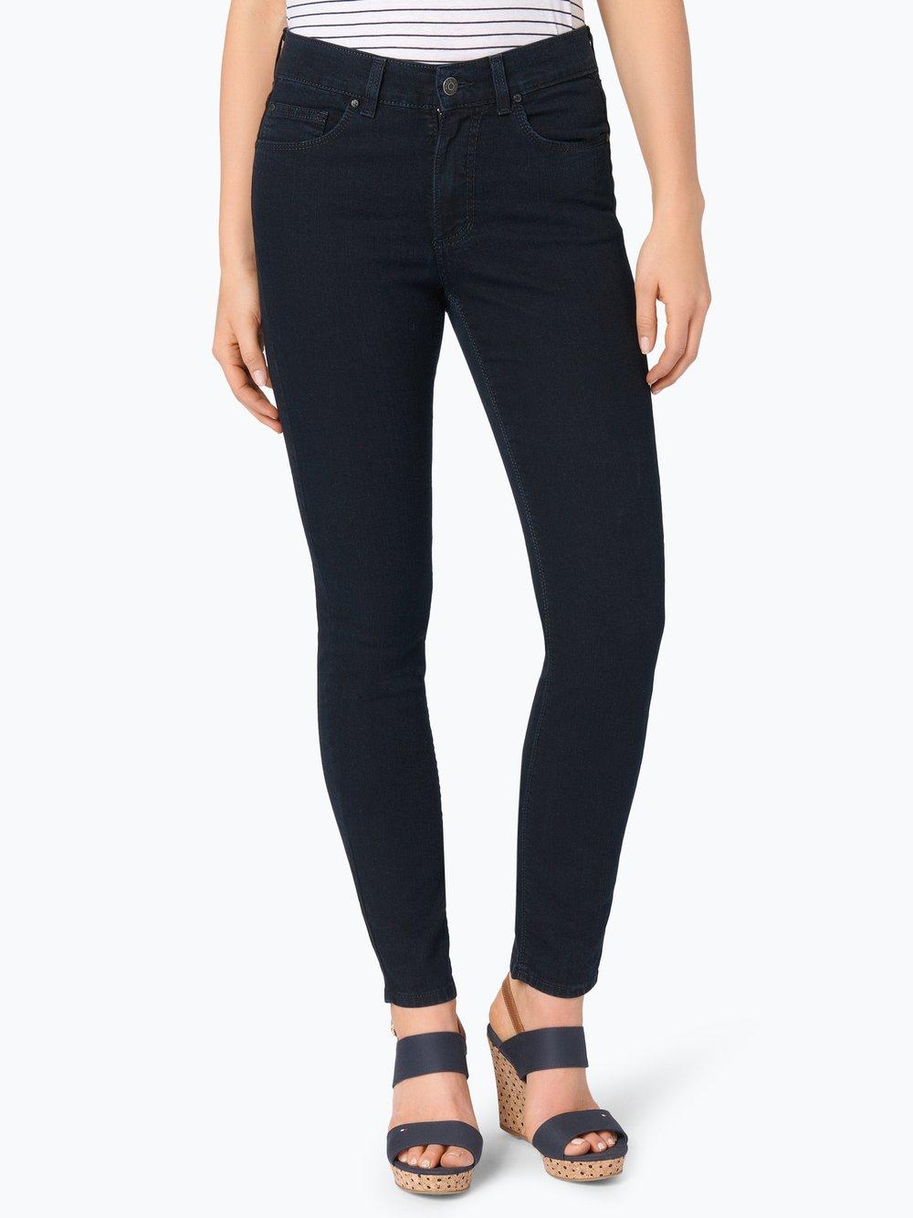 Angels – Jeansy damskie – Skinny z krótkimi nogawkami, niebieski Van Graaf 106422-0002-04228