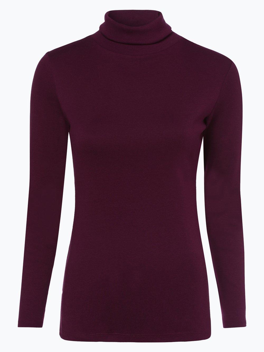 brookshire - Damska koszulka z długim rękawem, czerwony