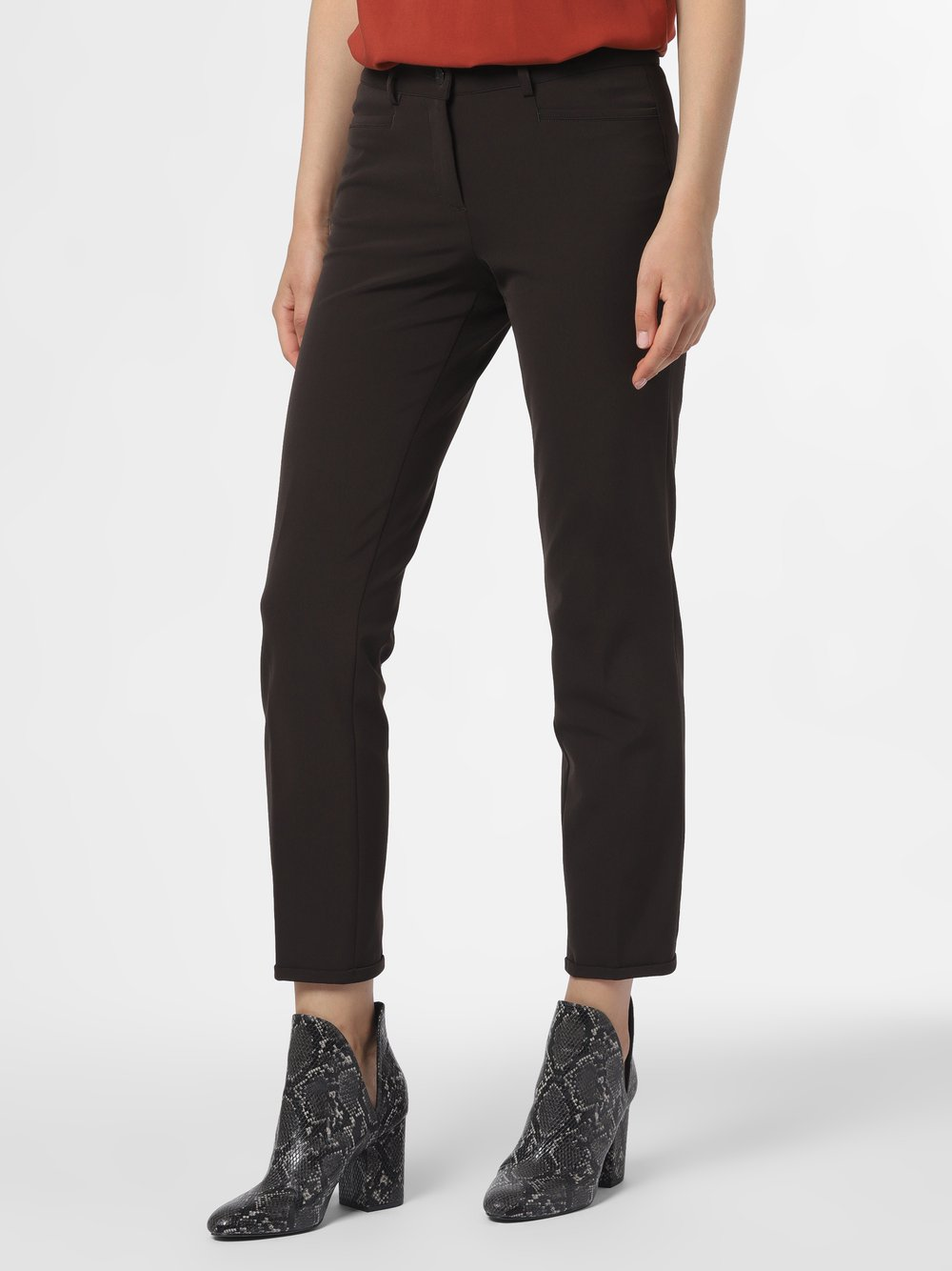 Cambio - Spodnie damskie – Renira, brązowy