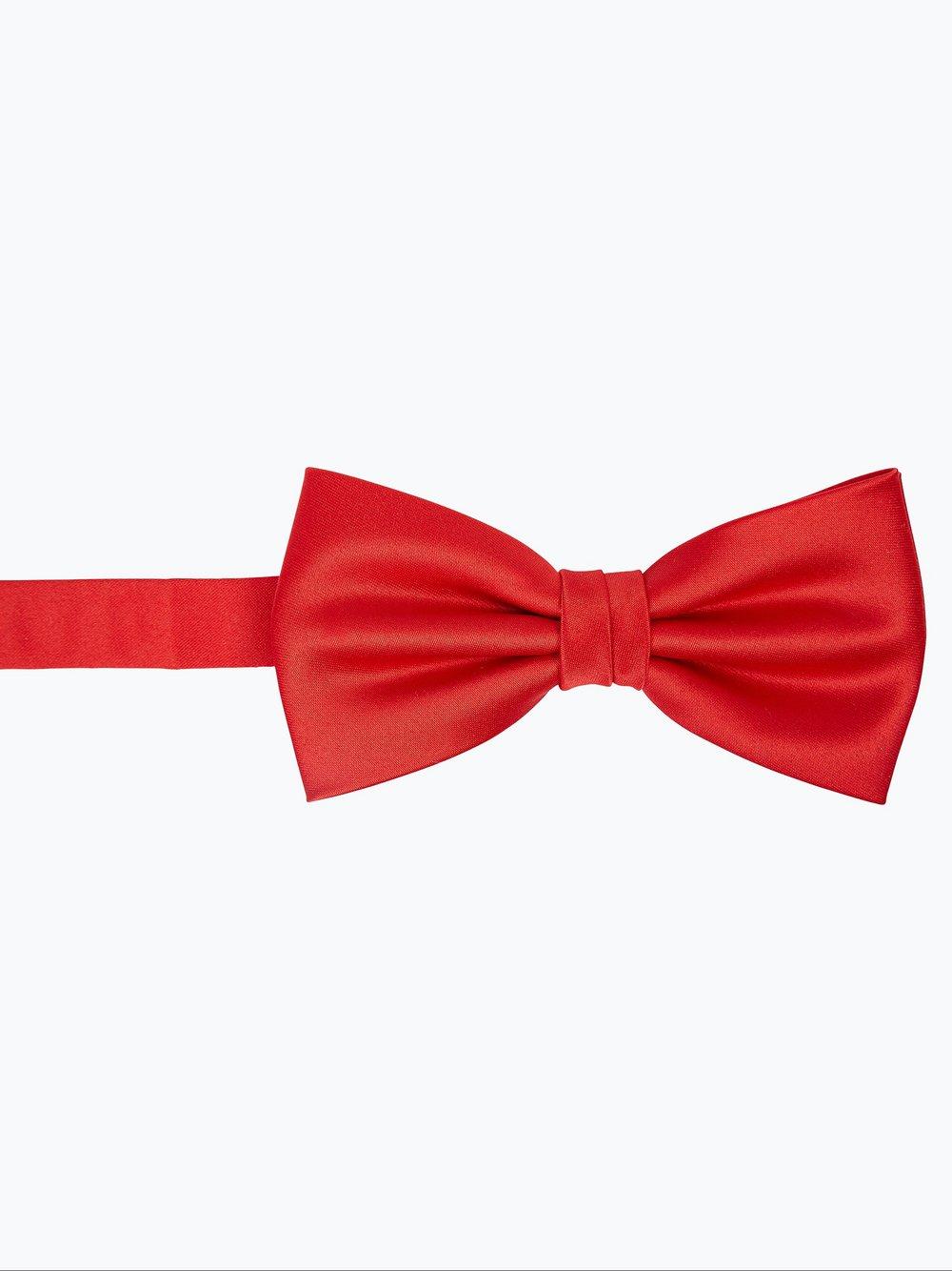 Mc Earl – Muszka i poszetka męska, czerwony Van Graaf 225015-0001-00000