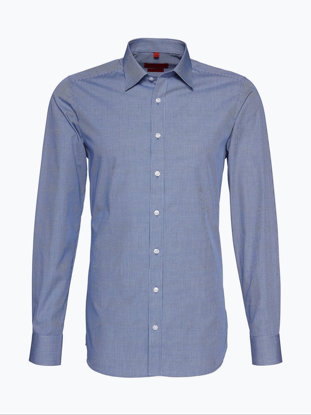 Finshley & Harding - Koszula męska, niebieski