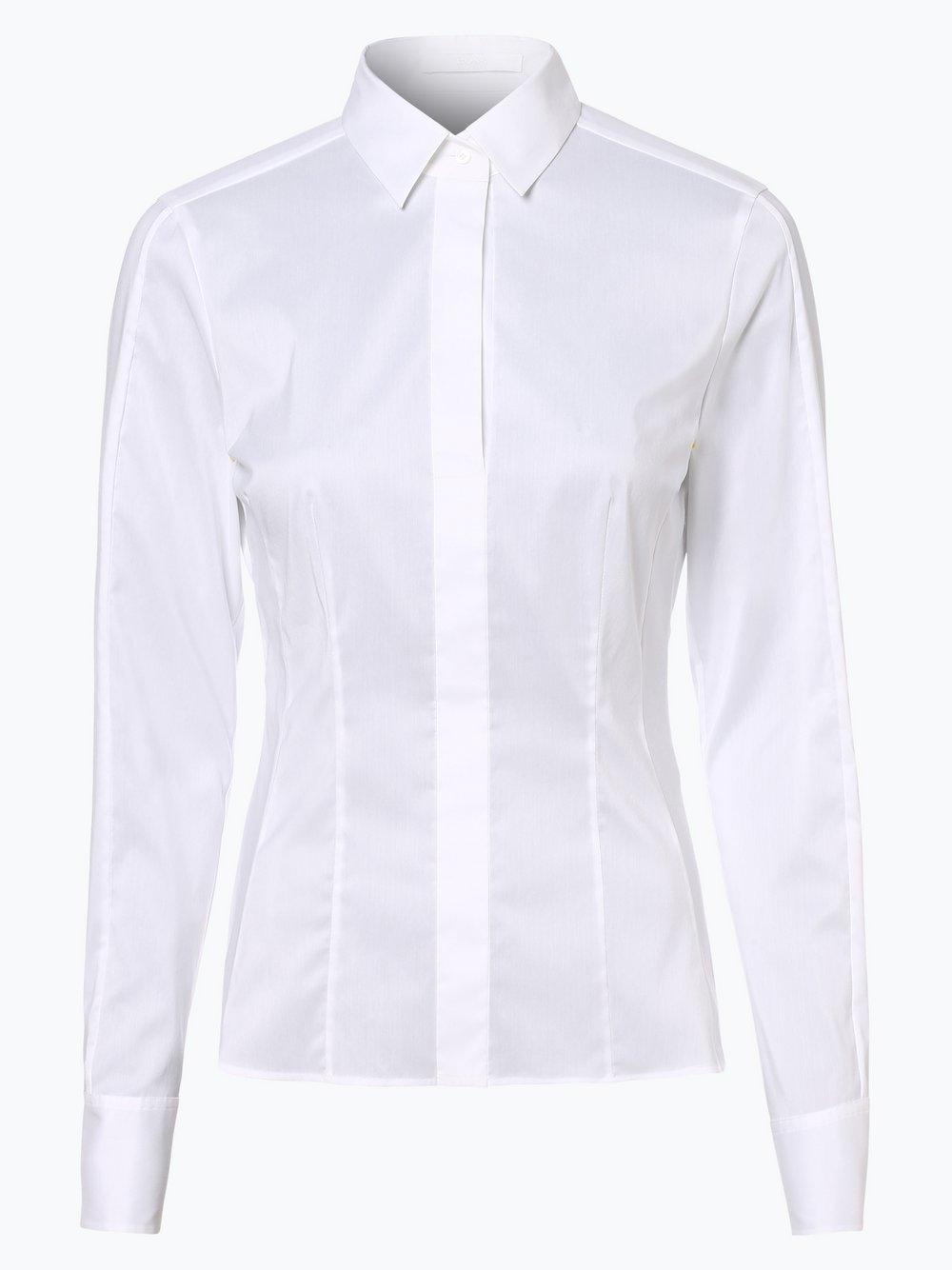 BOSS - Bluzka damska – Bashina6, biały