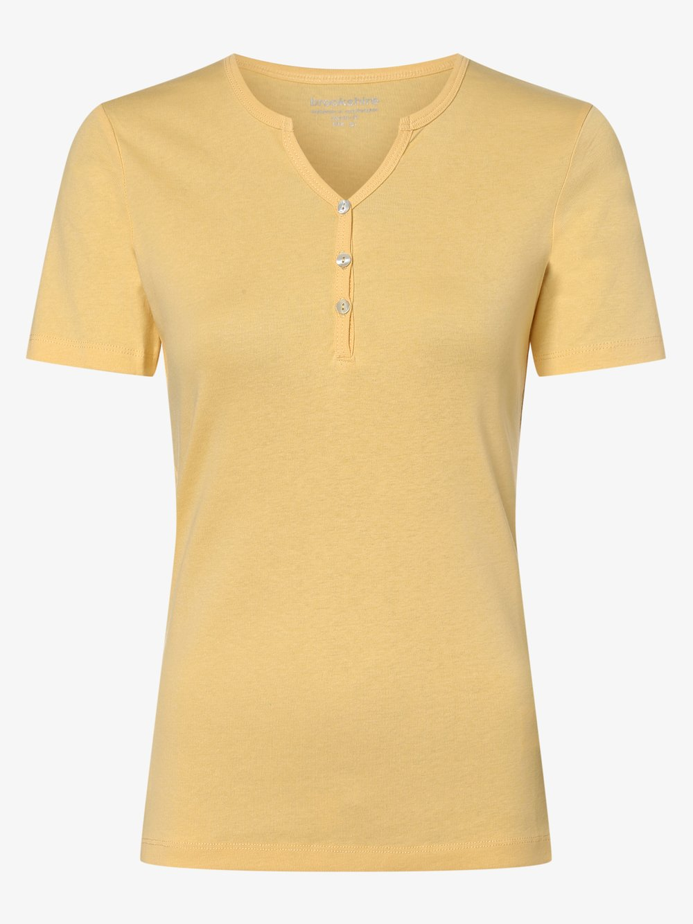 brookshire - T-shirt damski, żółty