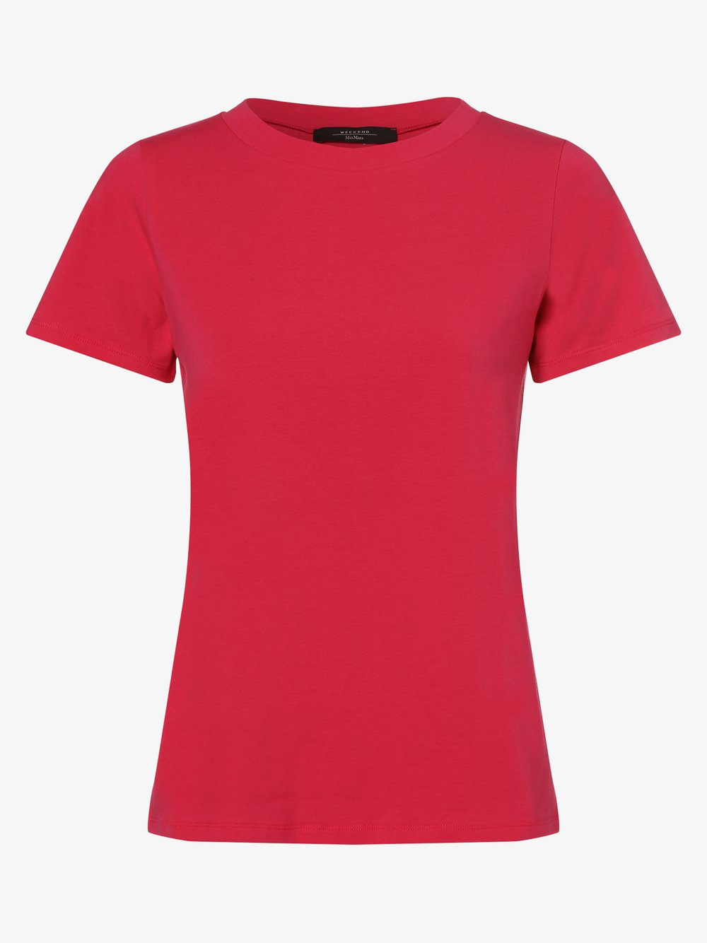 Weekend Max Mara - T-shirt damski – Multif, różowy