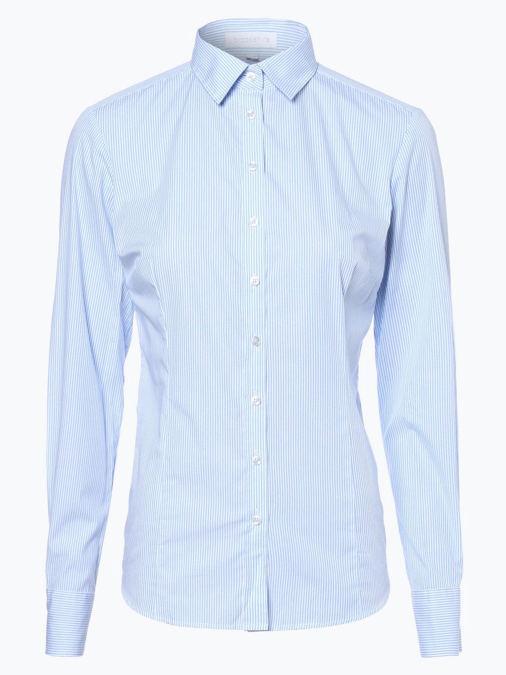 brookshire - Bluzka damska, niebieski