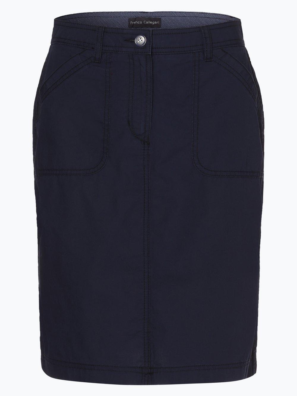 Franco Callegari - Spódnica damska, niebieski