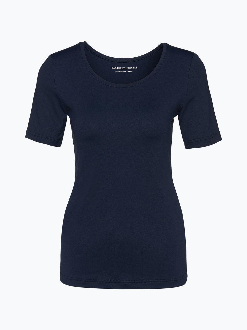 Apriori - T-shirt damski, niebieski Apriori
