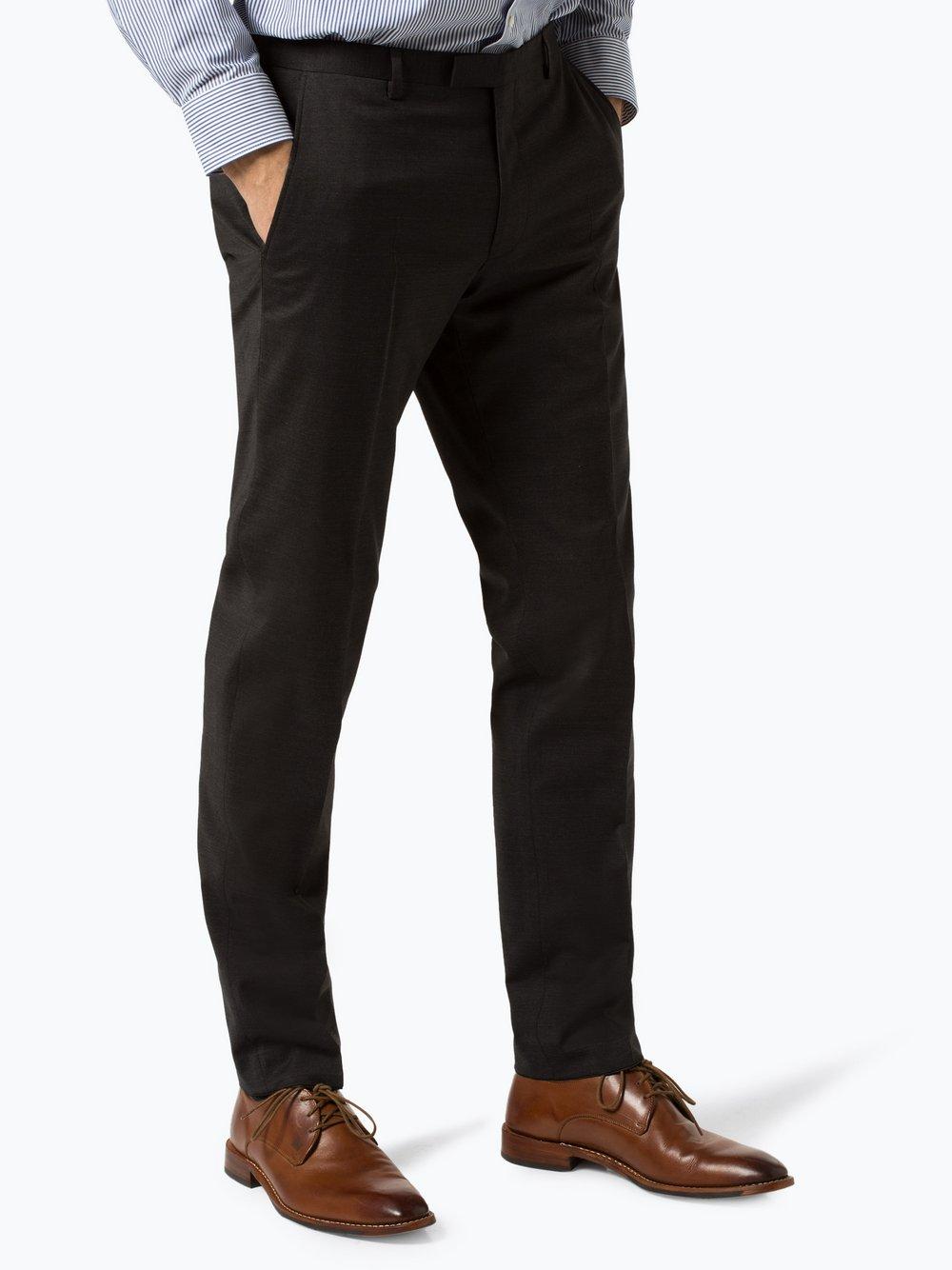 Joop - Męskie spodnie od garnituru modułowego – Blayr02, szary