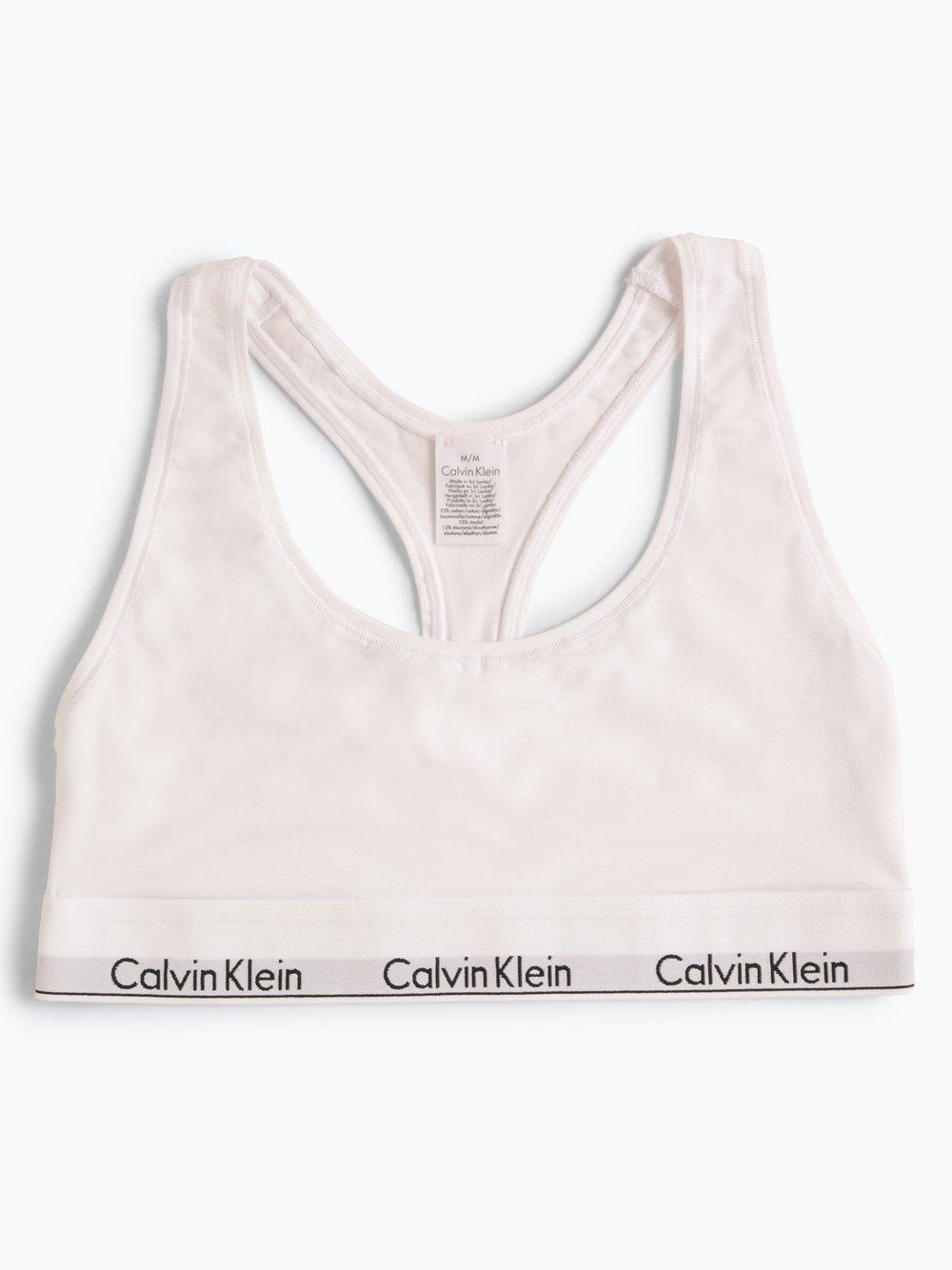 Calvin Klein - Gorset damski, biały