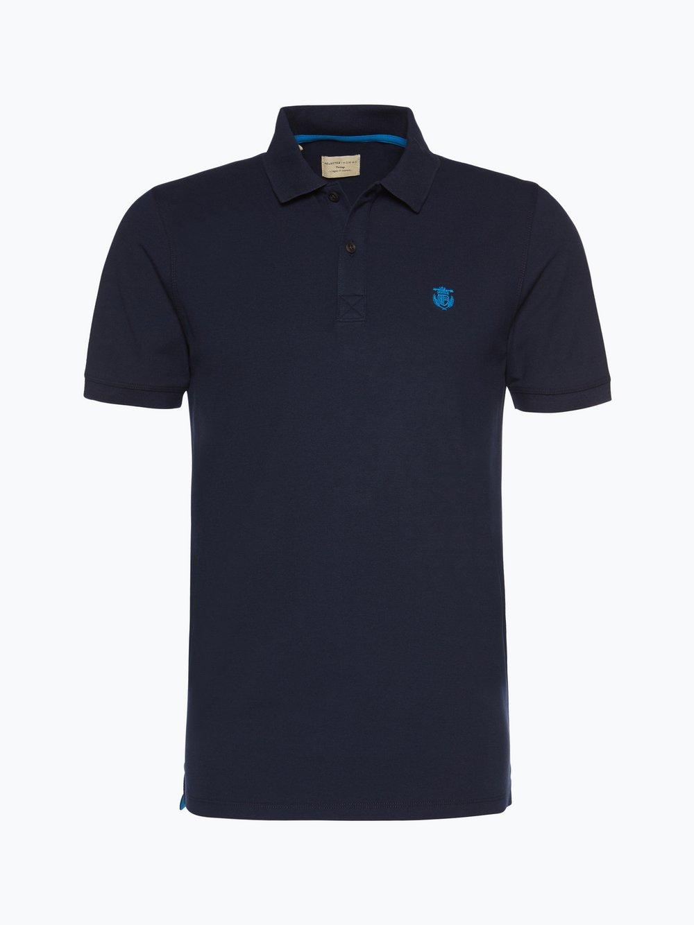 Selected - Męska koszulka polo - Shharo, niebieski