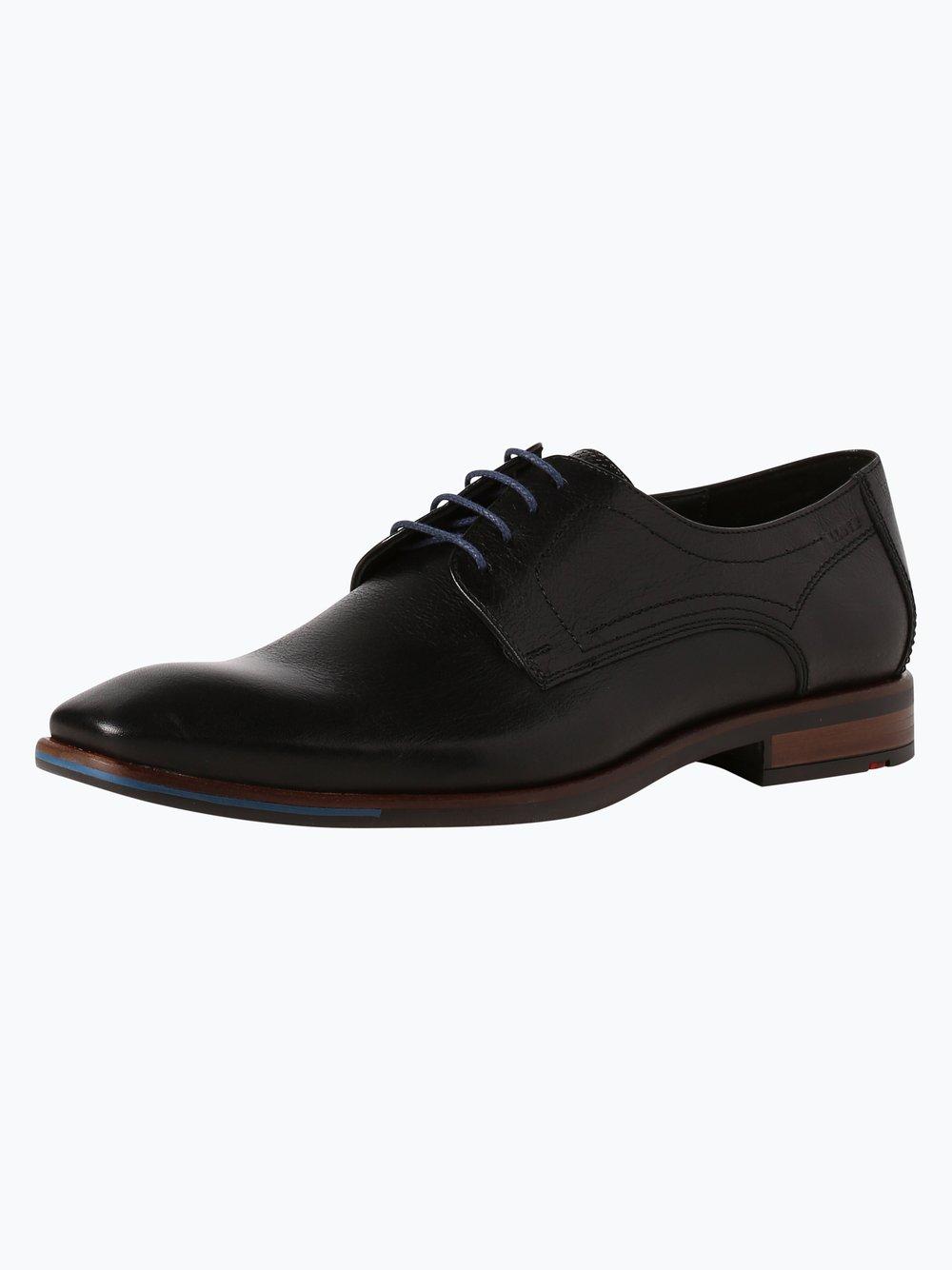 Lloyd - Męskie buty sznurowane ze skóry – Don, czarny