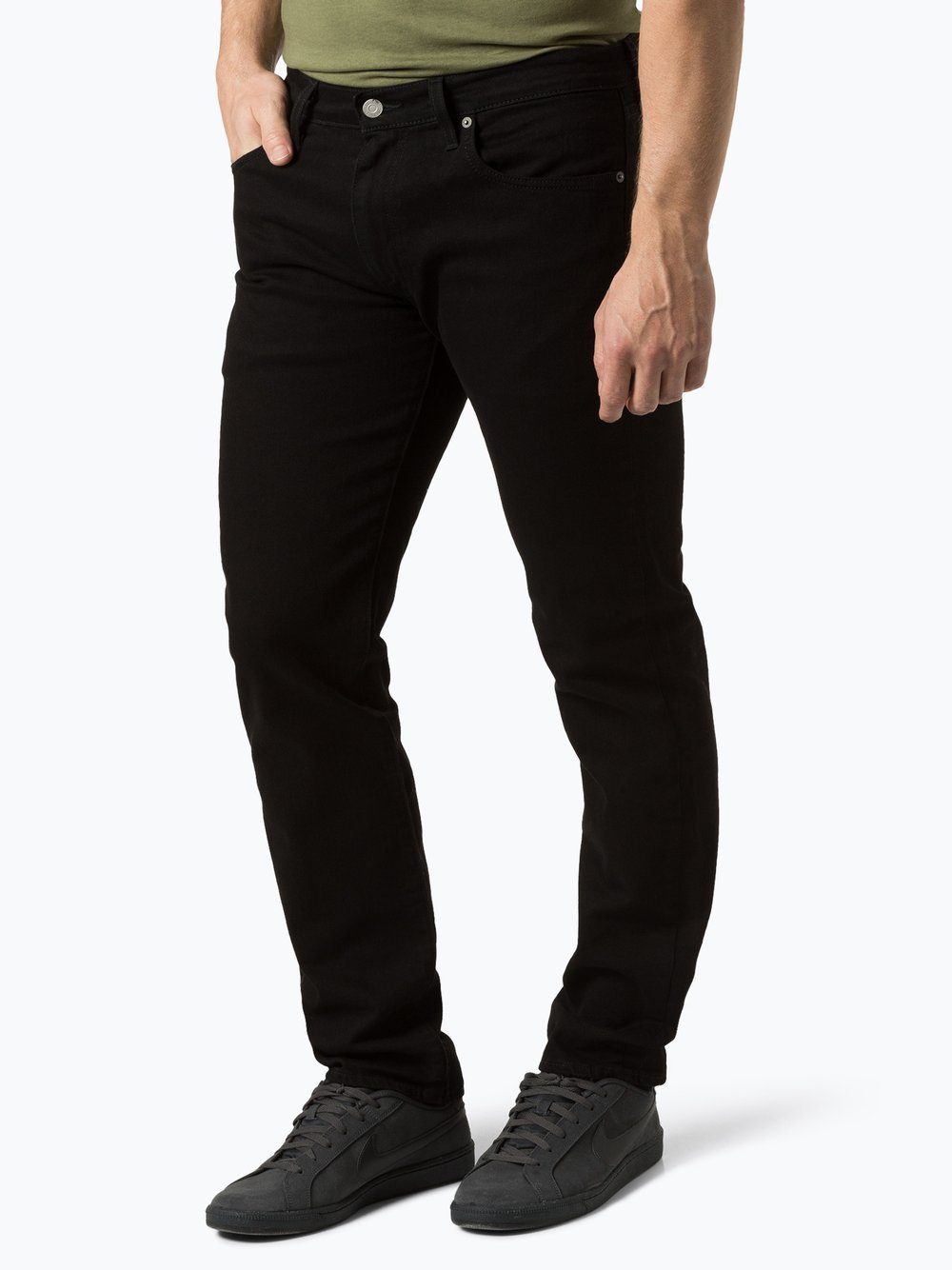 Levi's - Jeansy męskie, czarny