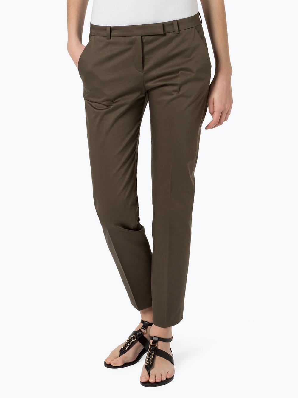 HUGO - Spodnie damskie – Harile-3, zielony
