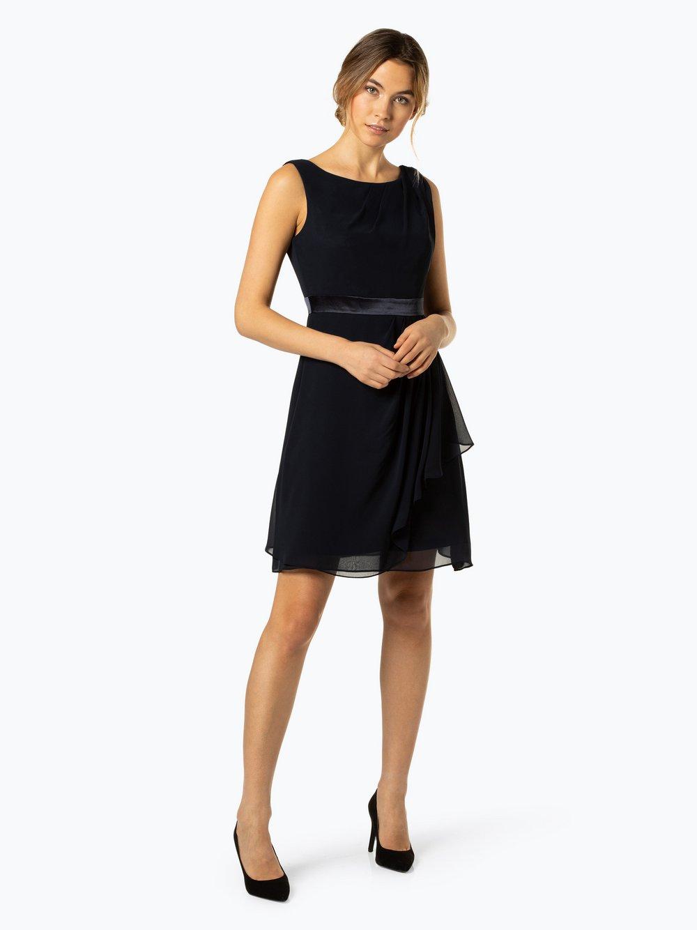 Marie Lund - Damska sukienka koktajlowa, niebieski