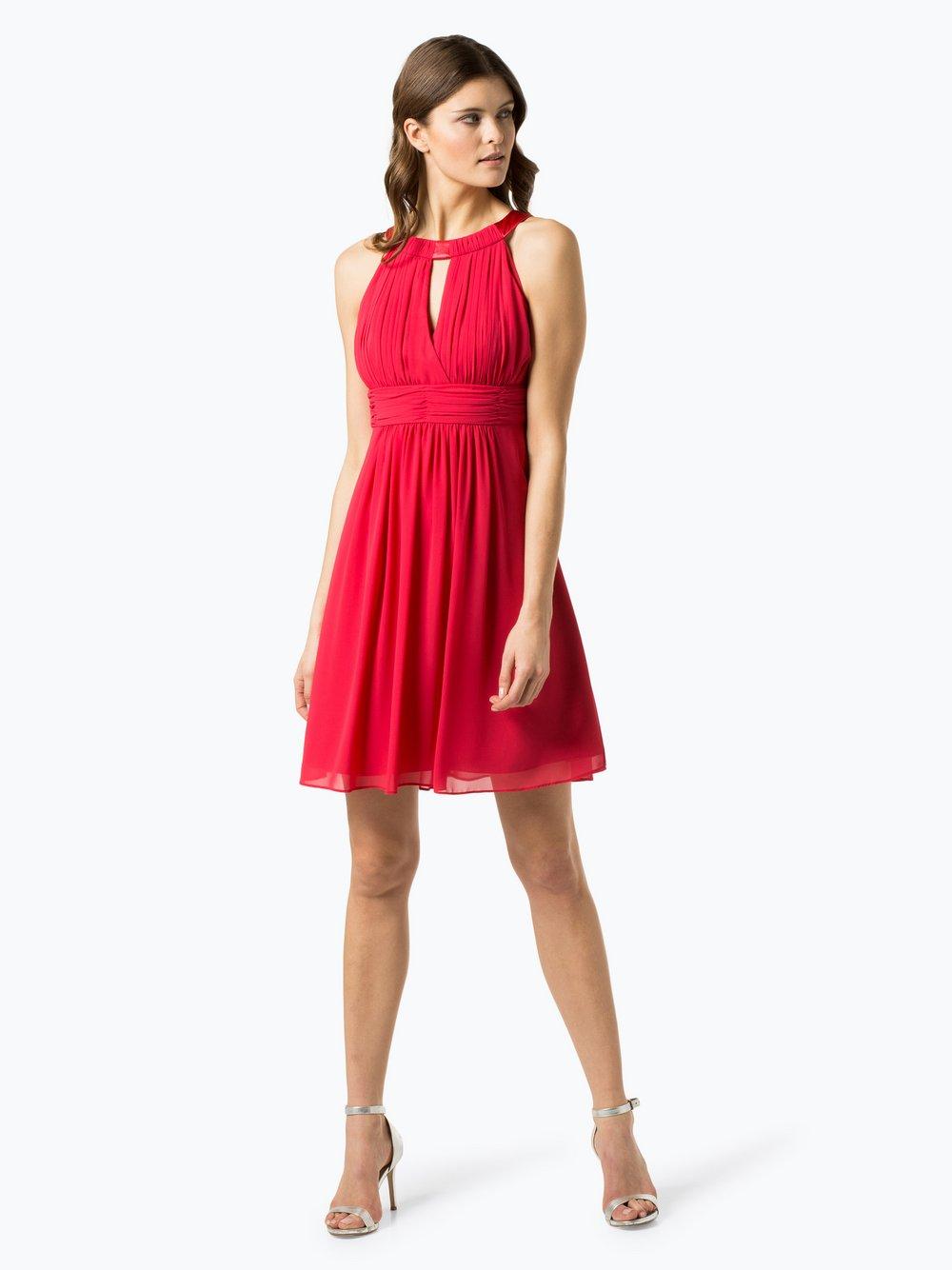 Marie Lund - Damska sukienka koktajlowa, różowy