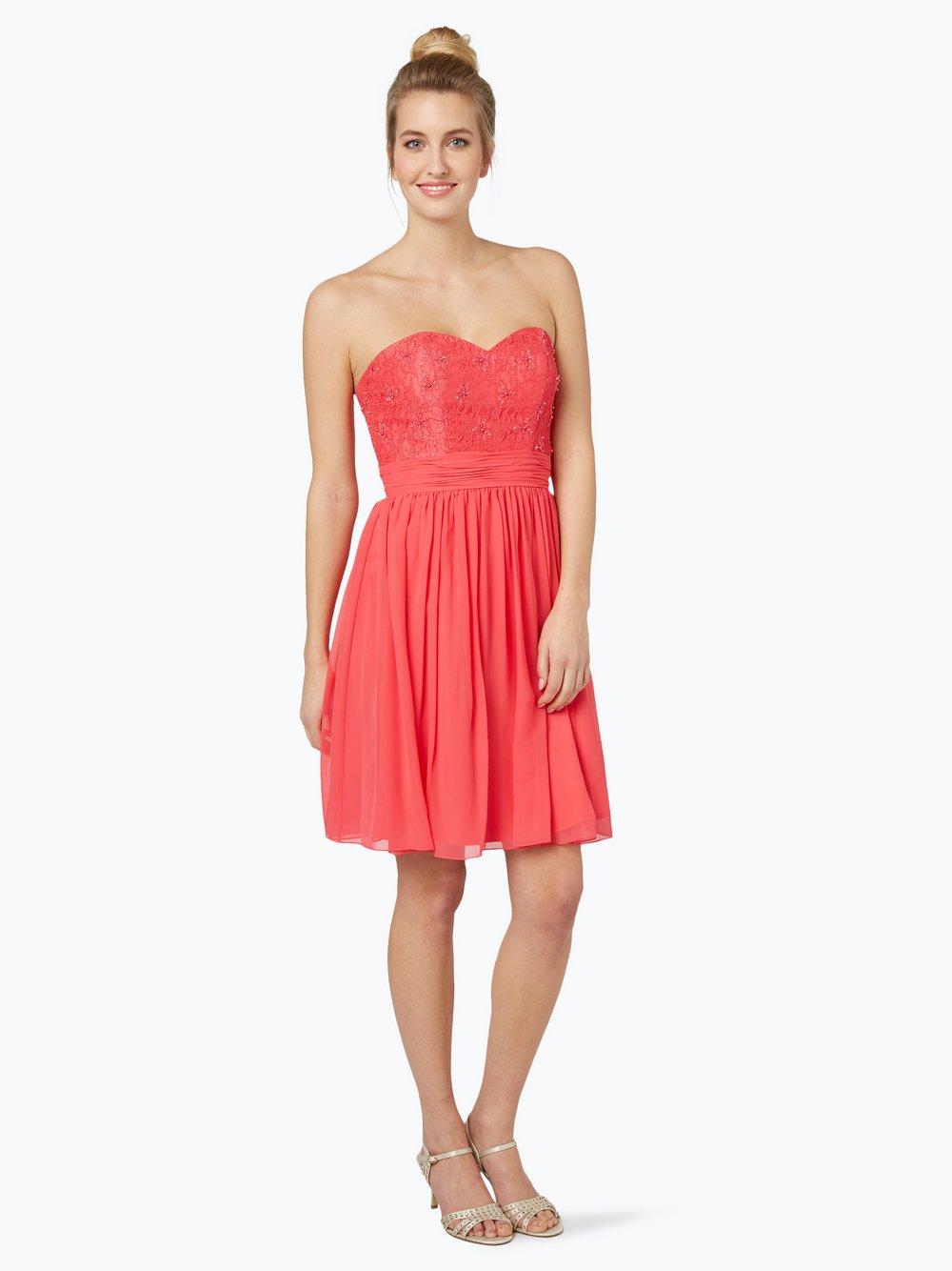 Laona – Damska sukienka koktajlowa, różowy Van Graaf 356031-0001-09900
