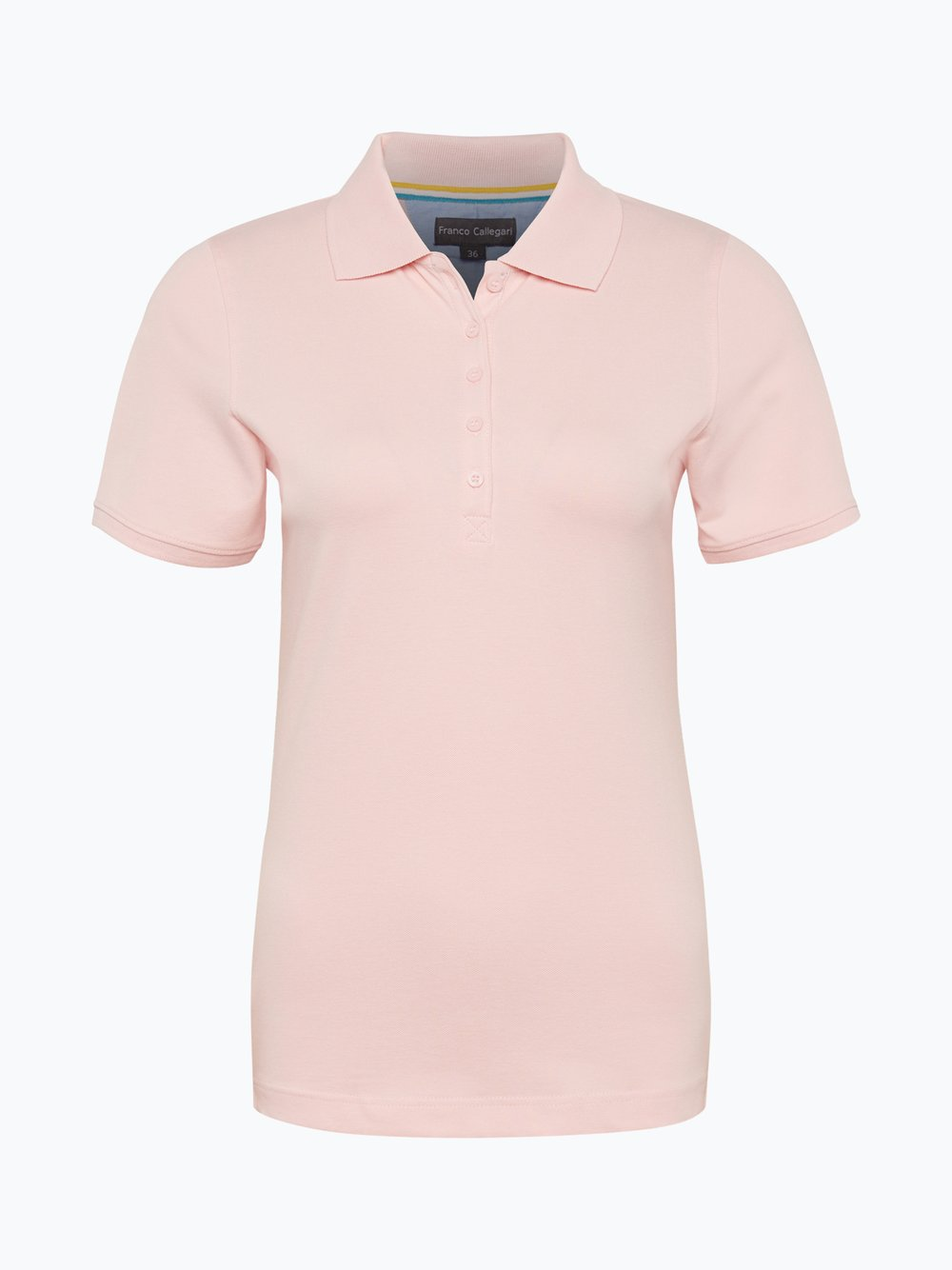 Franco Callegari - Damska koszulka polo, różowy