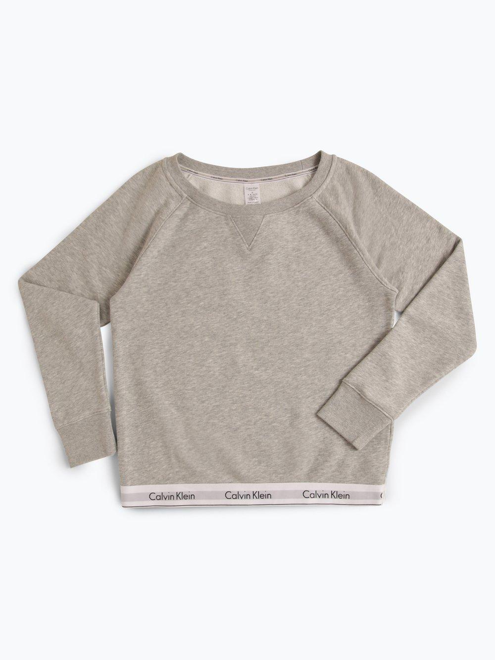 Calvin Klein - Damska bluza nierozpinana, szary