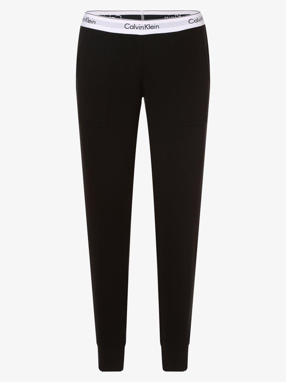 Calvin Klein - Damskie spodnie dresowe, czarny