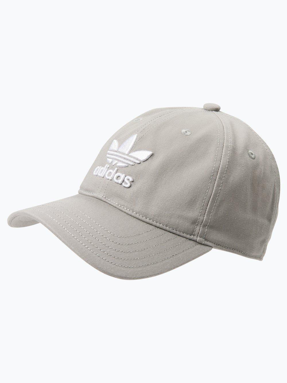 Obraz przedstawiający adidas Originals - Męska czapka z daszkiem – Trefoil, szary