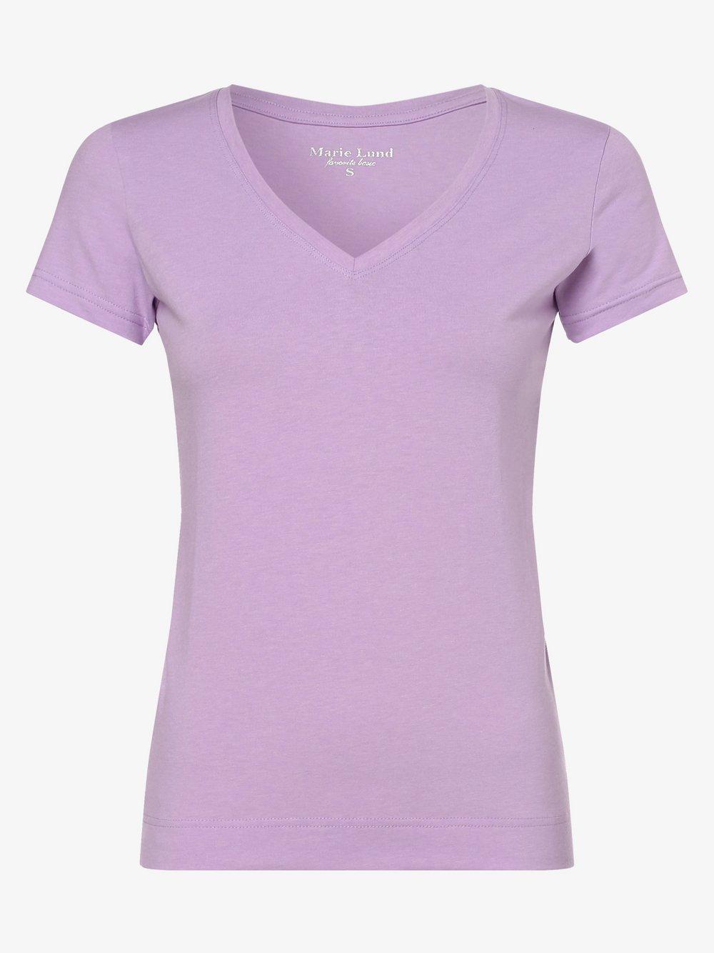 Marie Lund - T-shirt damski, lila