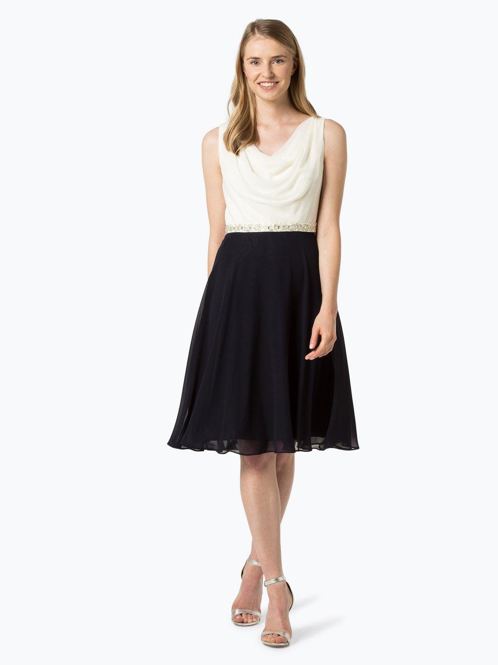 Ambiance - Damska sukienka koktajlowa, niebieski
