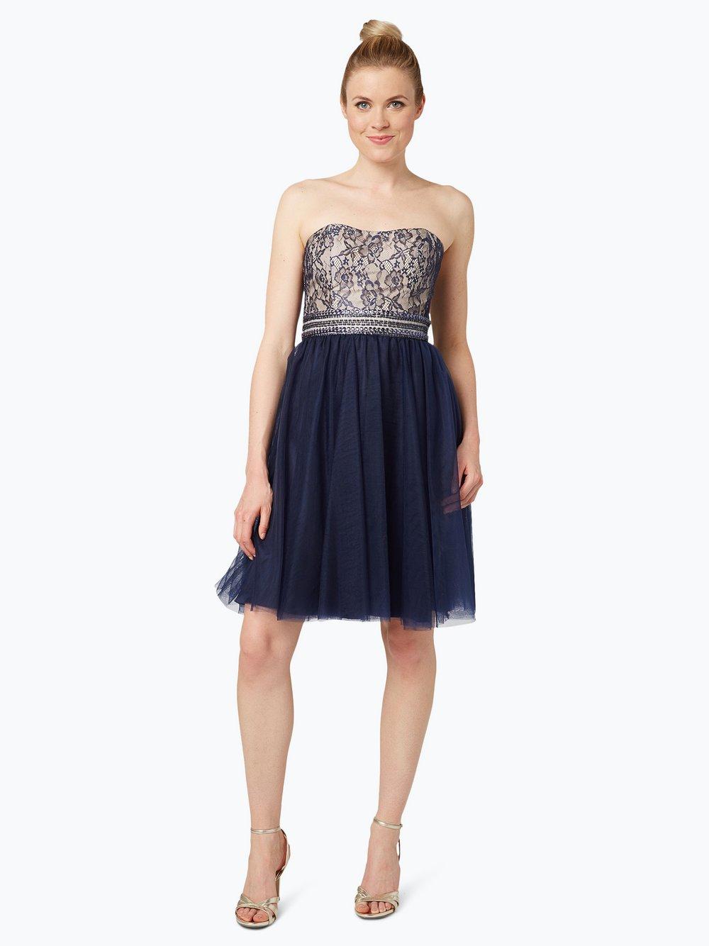 Laona - Damska sukienka koktajlowa, niebieski
