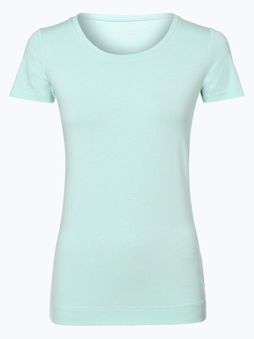 Marie Lund - T-shirt damski, zielony