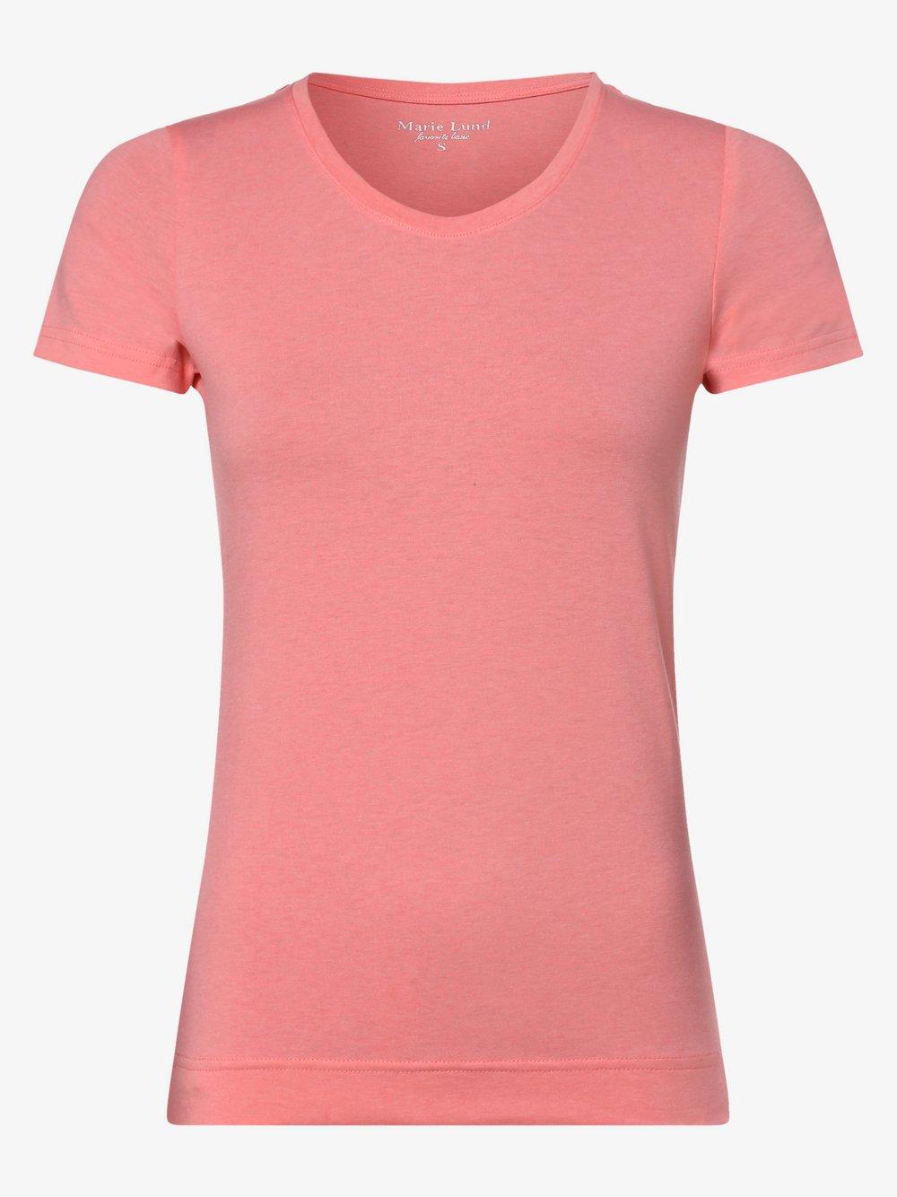 Marie Lund - T-shirt damski, czerwony
