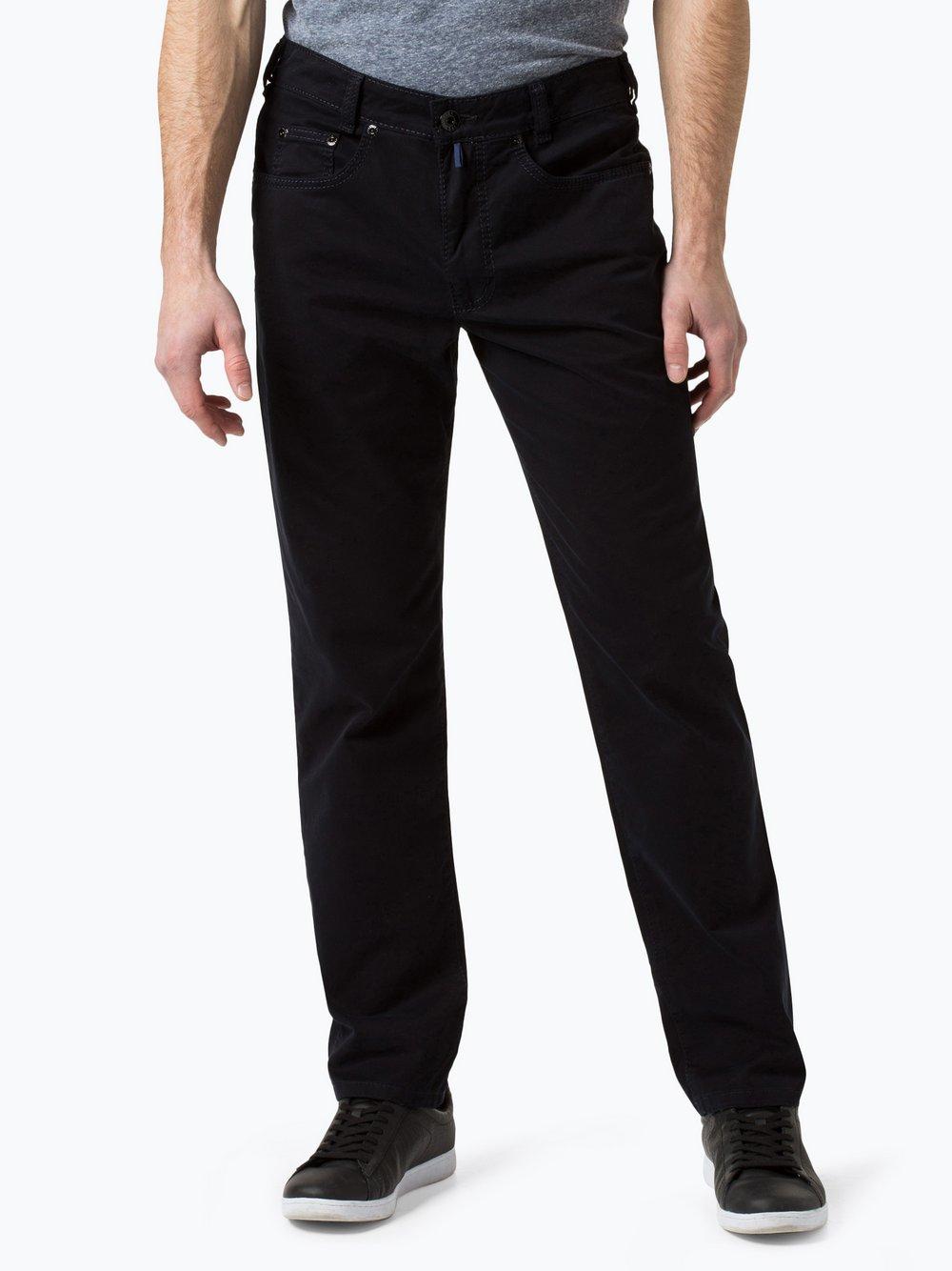 Joker – Spodnie męskie – Harlem Walker, niebieski Van Graaf 371360-0003-03532