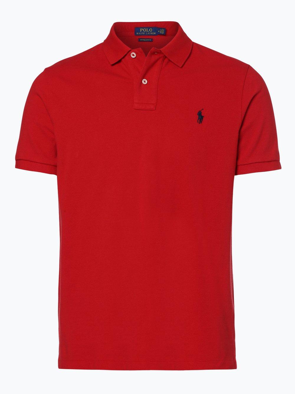 Polo Ralph Lauren - T-shirt męski, czerwony