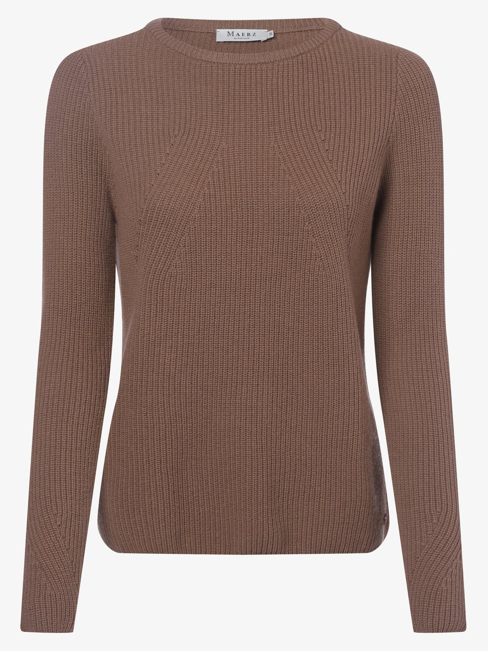März – Sweter damski, beżowy Van Graaf 375482-0006-00420