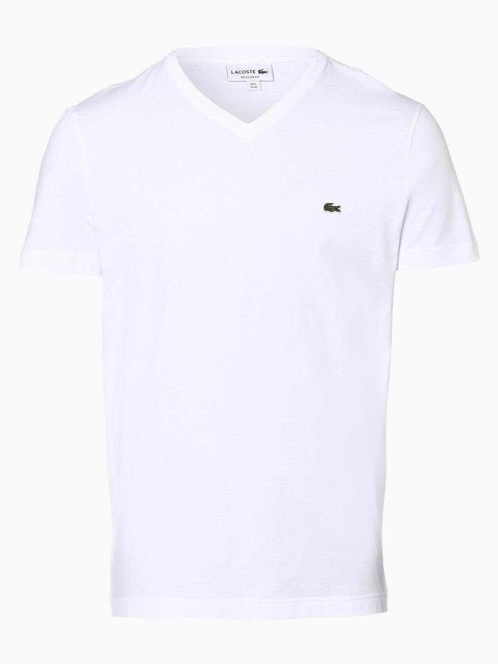 Lacoste - T-shirt męski, biały