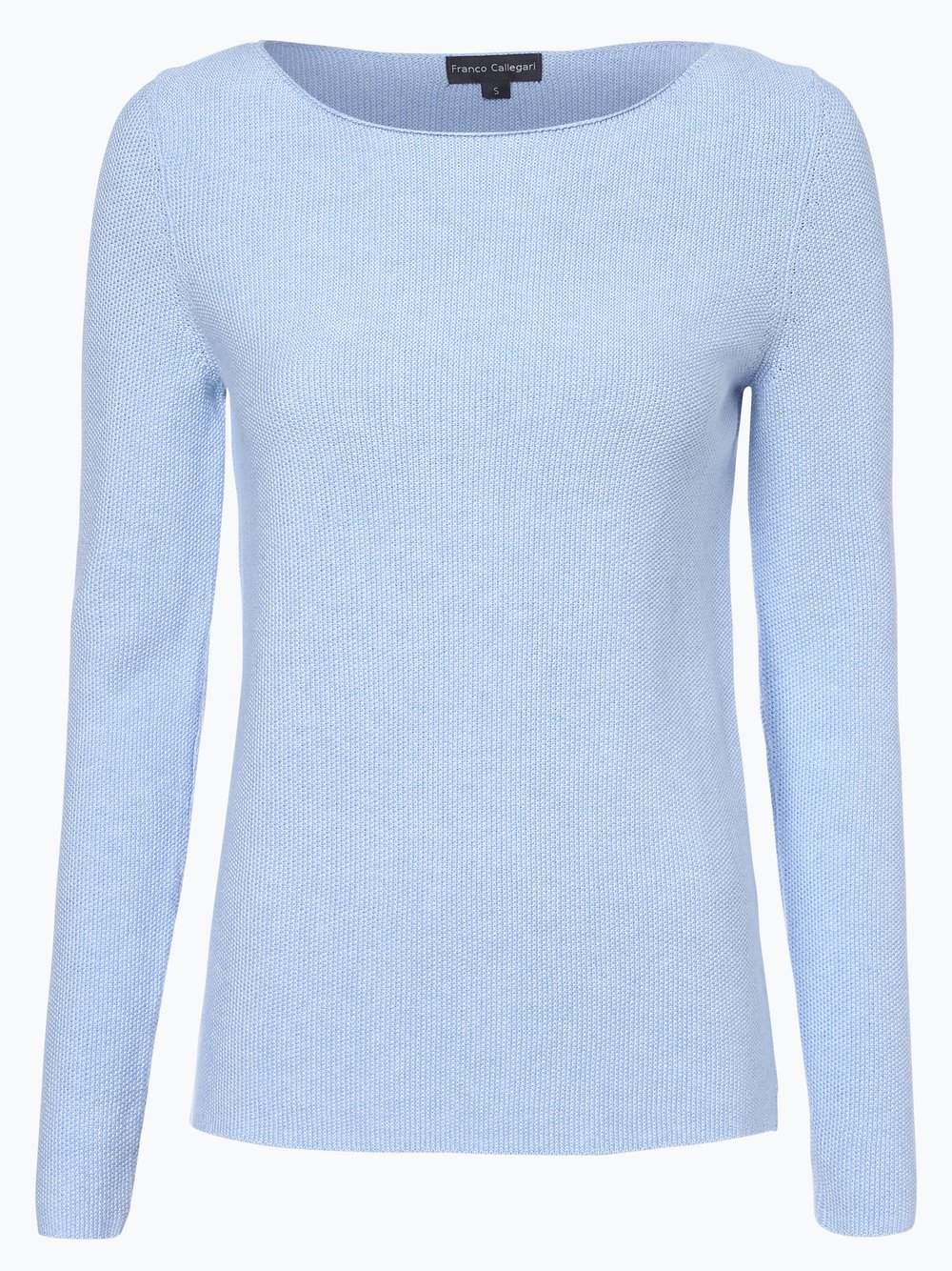 Franco Callegari - Sweter damski, niebieski