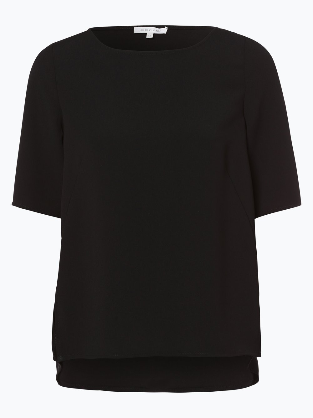 Apriori – Bluzka damska, czarny Van Graaf 382414-0001