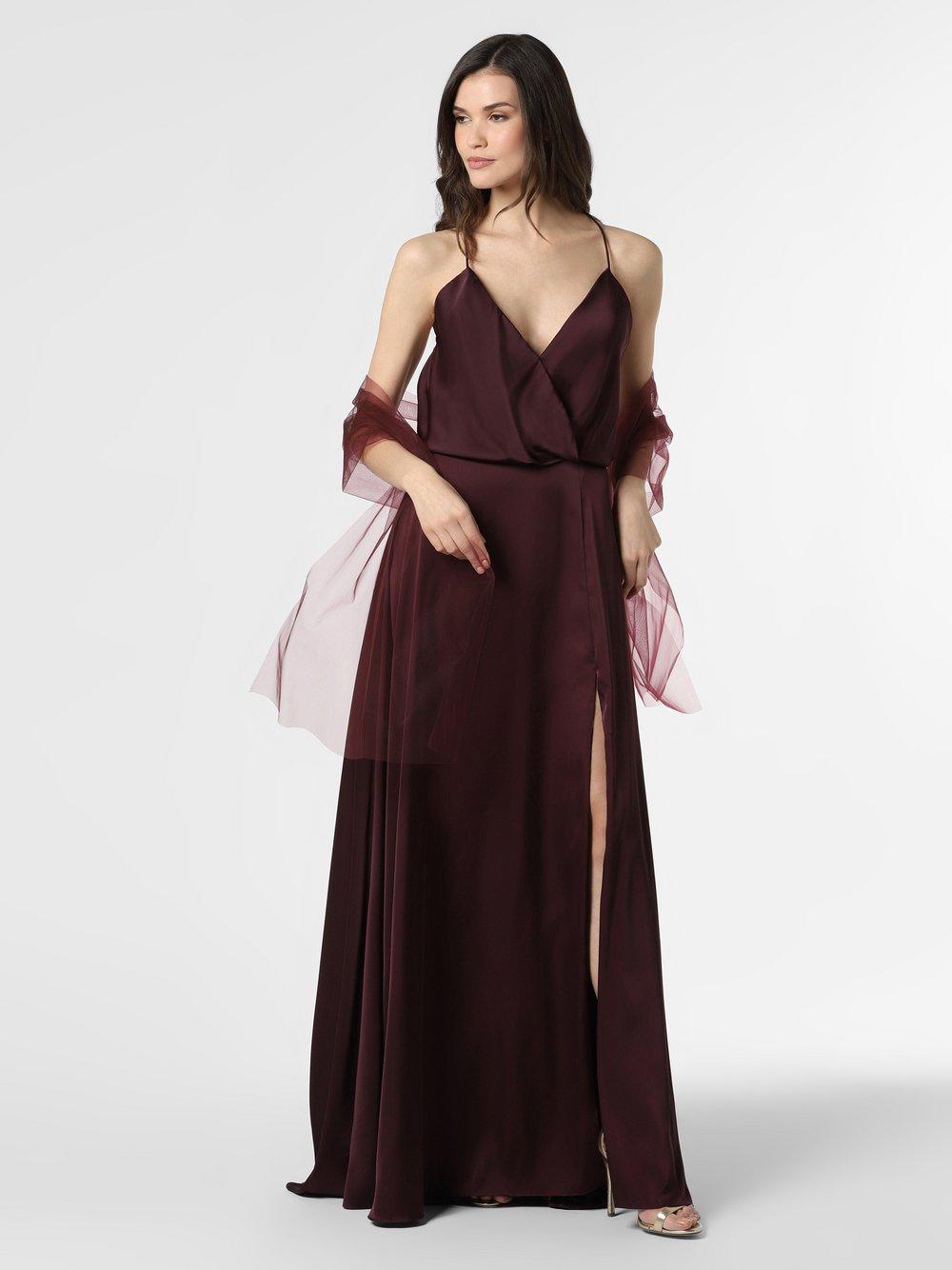 Unique - Damska sukienka wieczorowa, czerwony