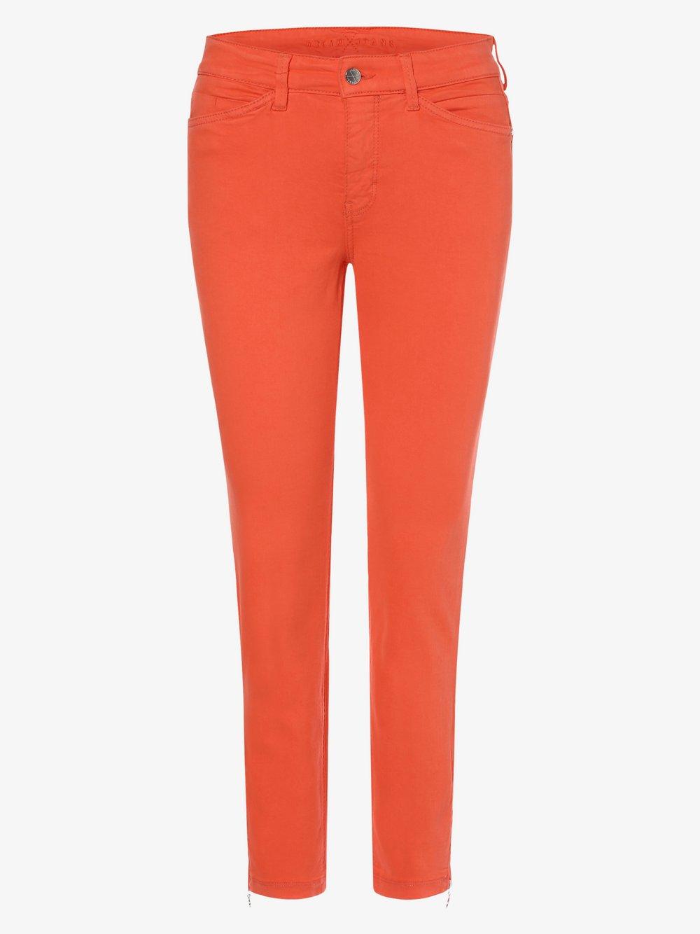 MAC – Jeansy damskie – Dream Chic, pomarańczowy Van Graaf 387631-0012-03627