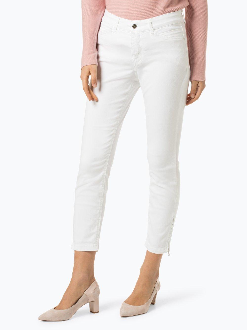 MAC - Spodnie damskie – Dream Chic, biały