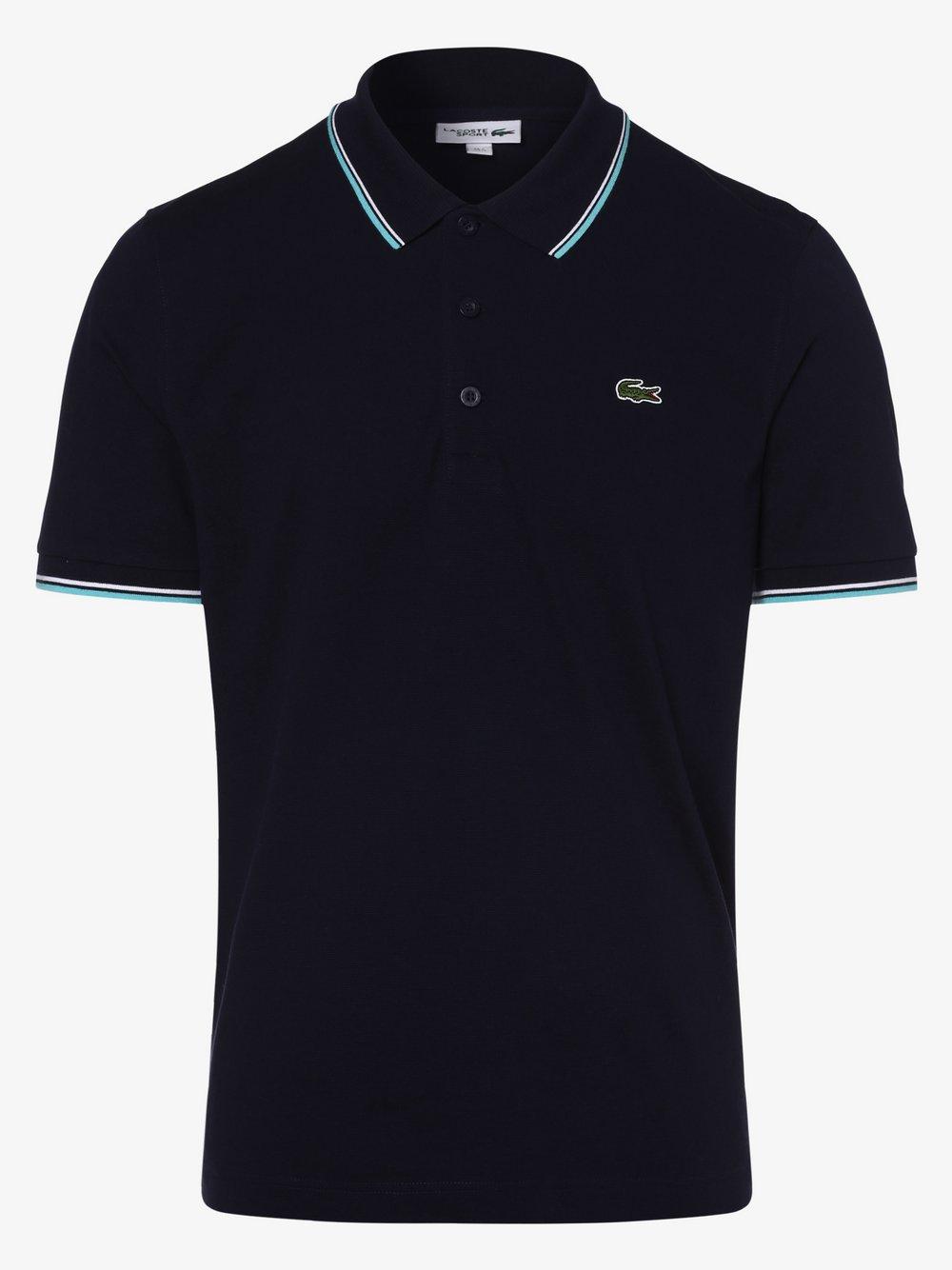 Lacoste - Męska koszulka polo, niebieski