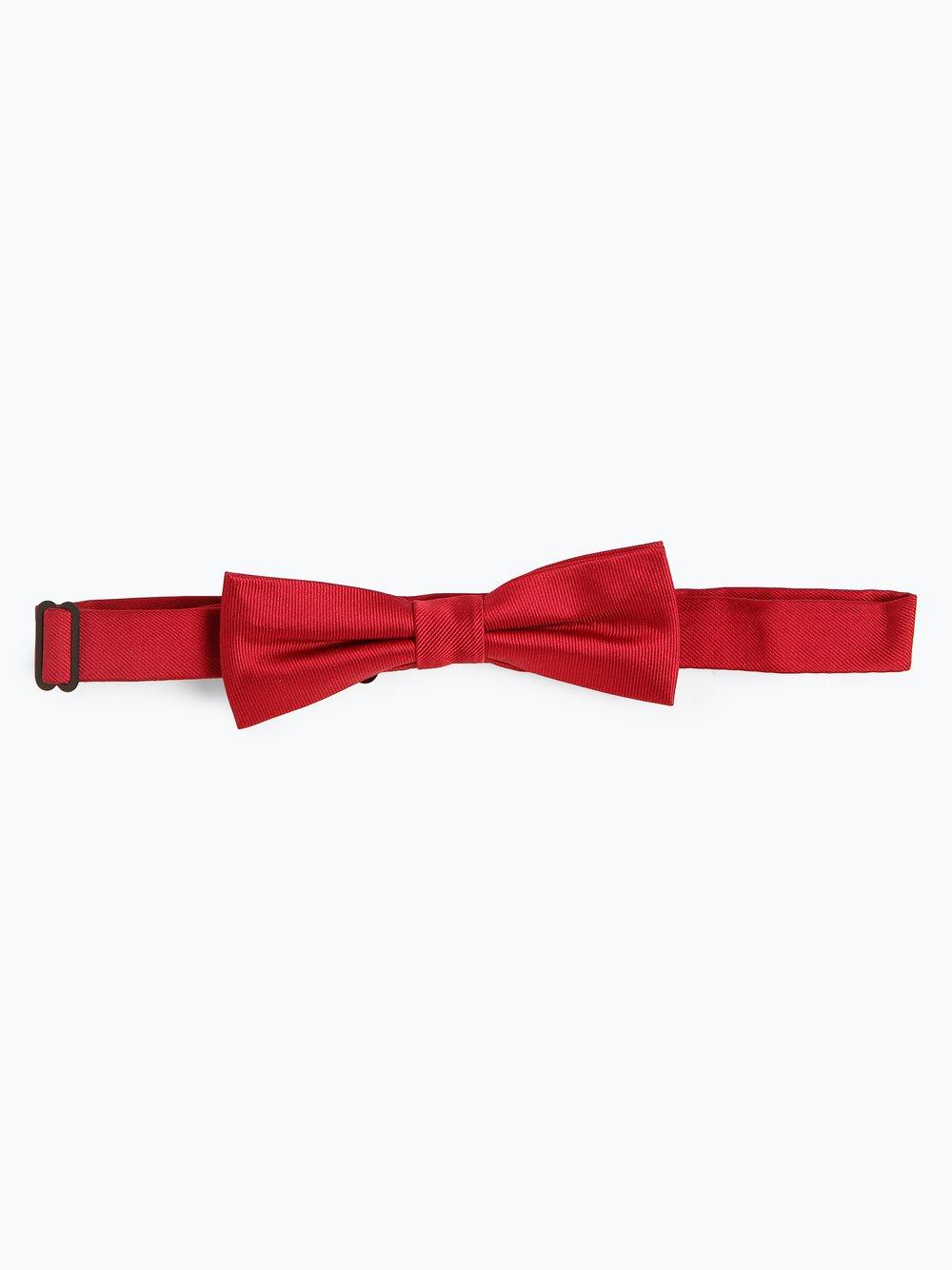 Finshley & Harding London – Muszka męska z jedwabiu, czerwony Van Graaf 392523-0003-00000