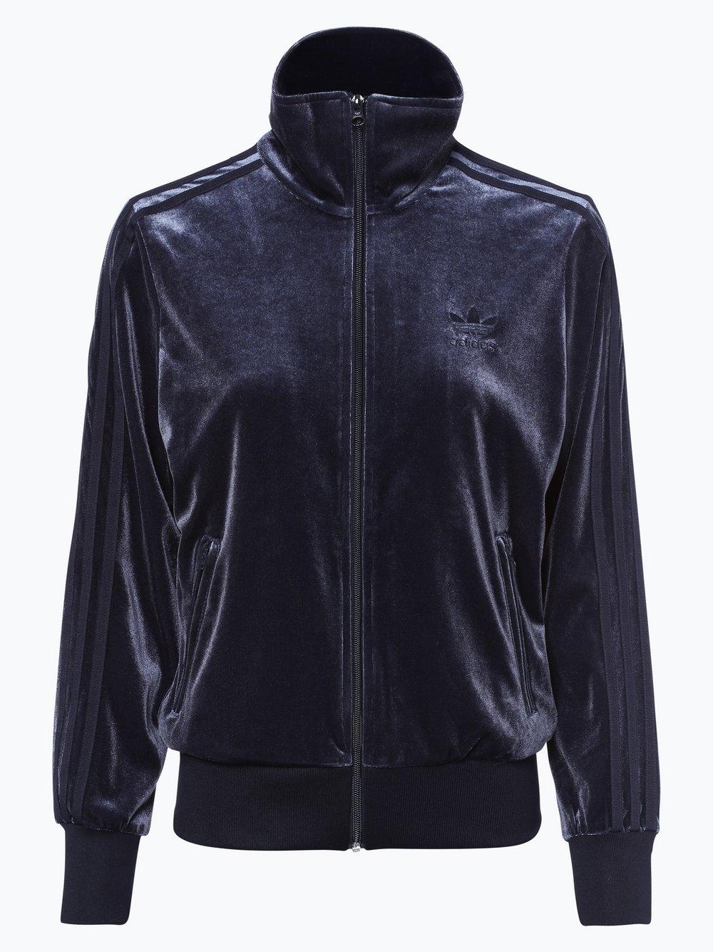 Obraz przedstawiający adidas Originals - Damska bluza rozpinana, niebieski